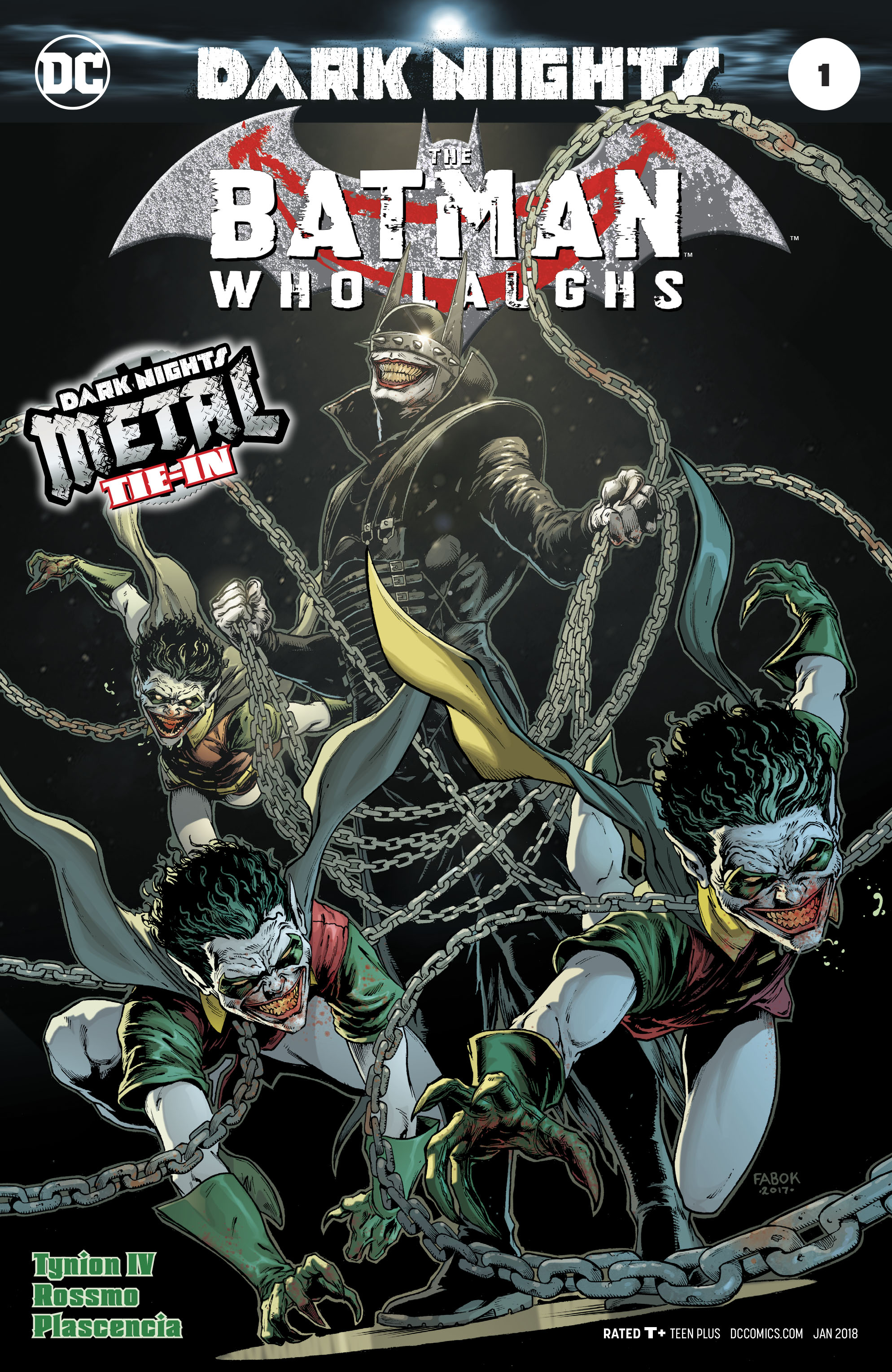 BATMAN WHO LAUGHS #1 (METAL)