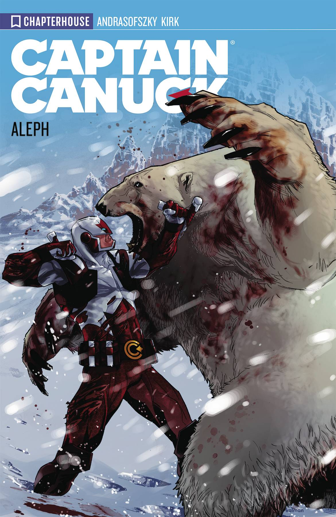 CAPTAIN CANUCK TP VOL 01 ALEPH (NEW ED) (RES)