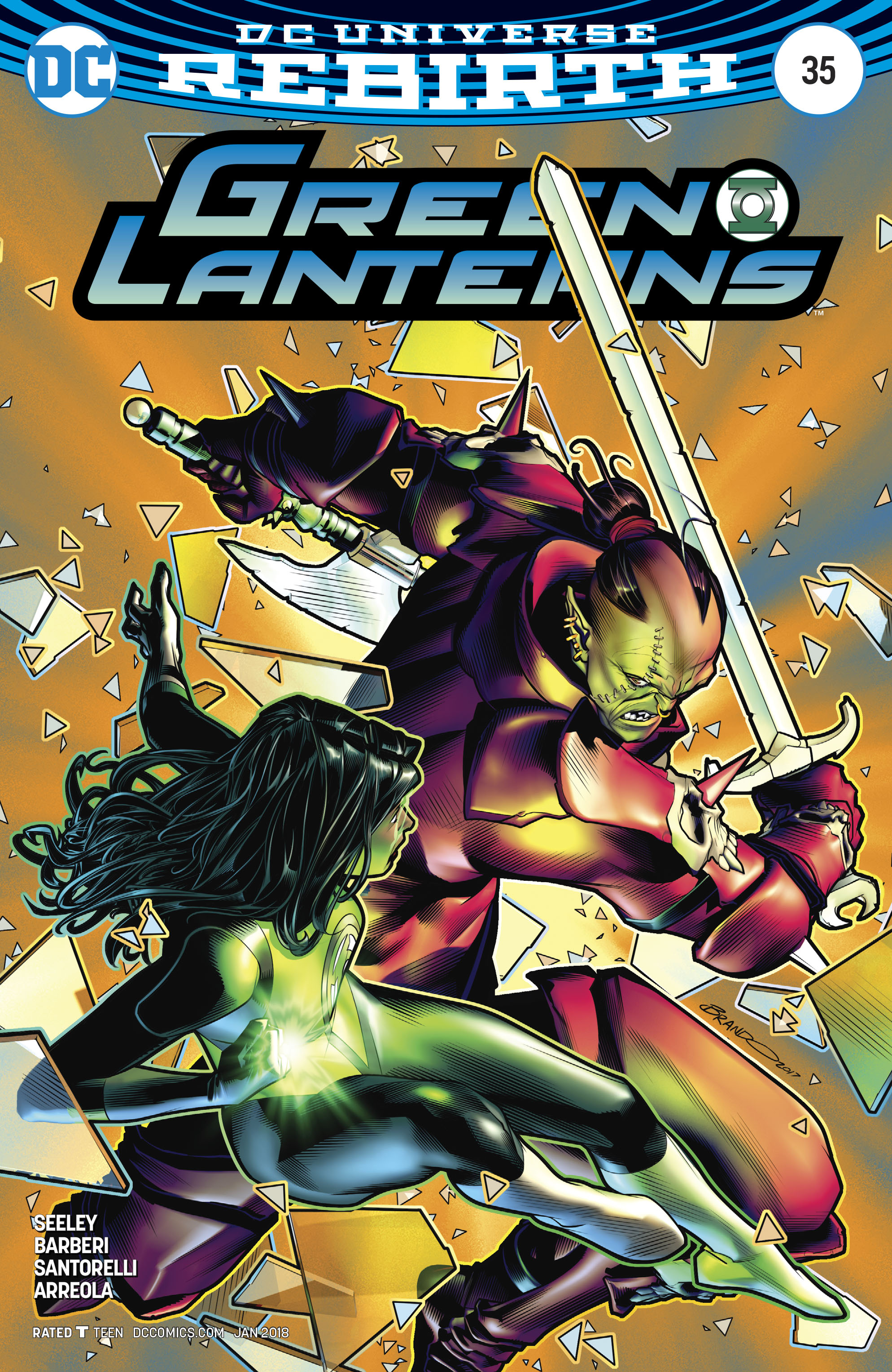 GREEN LANTERNS #35 VAR ED