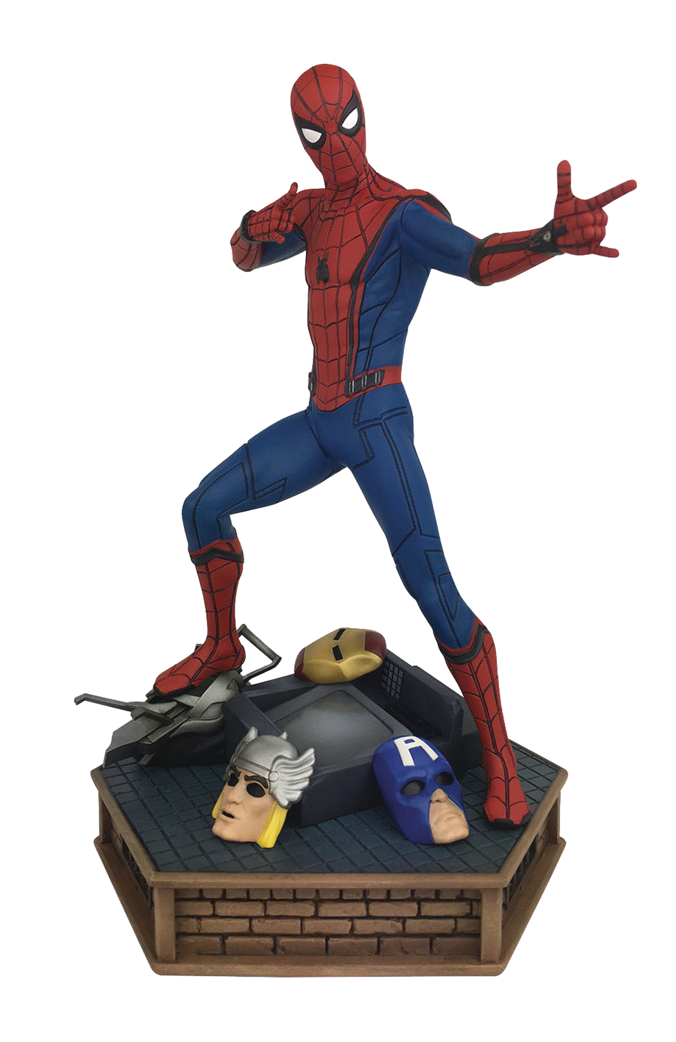 MARVEL PREMIER SPIDER-MAN HOMECOMING STATUE
