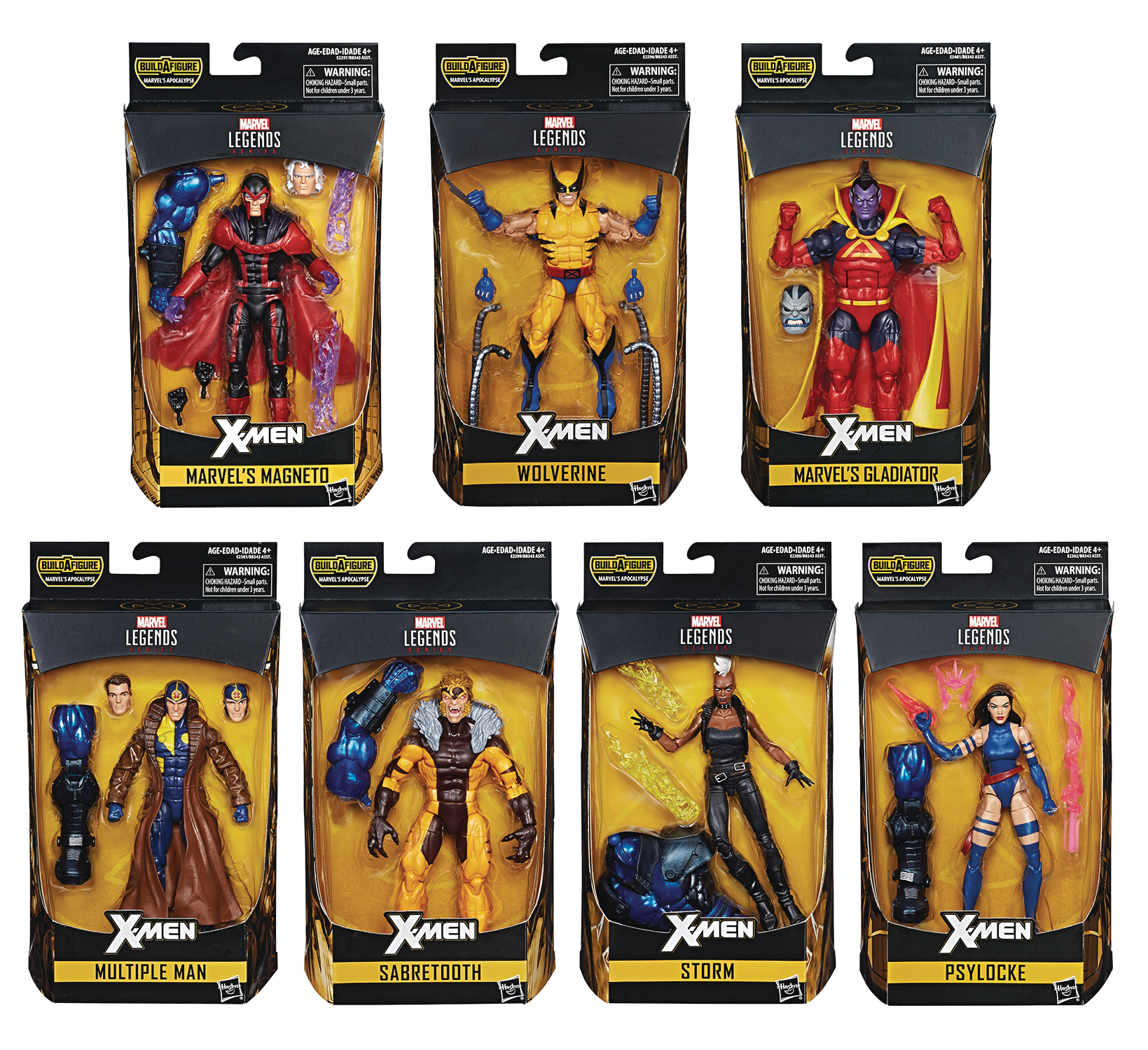 X-MEN LEGENDS 6IN AF ASST 201801