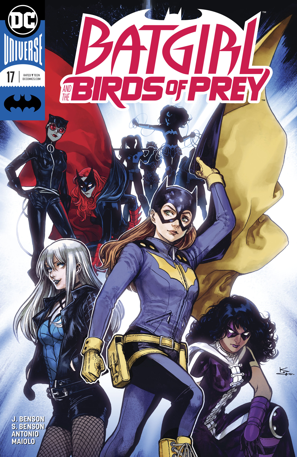 Oct170230 Batgirl And The Birds Of Prey 17 Var Ed Previews World