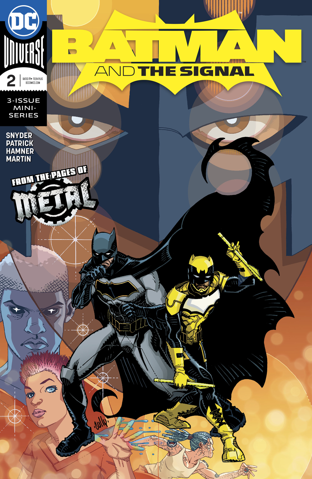 BATMAN AND THE SIGNAL #2 (OF 3) (RES)