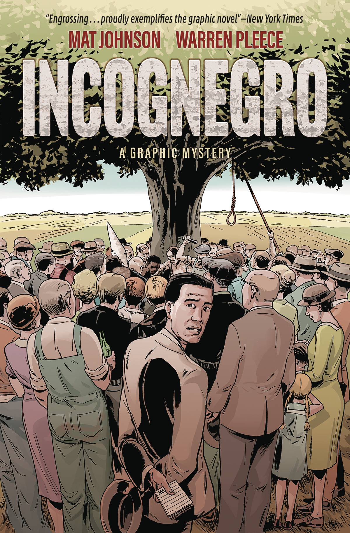 INCOGNEGRO A GRAPHIC MYSTERY HC (OCT170018)