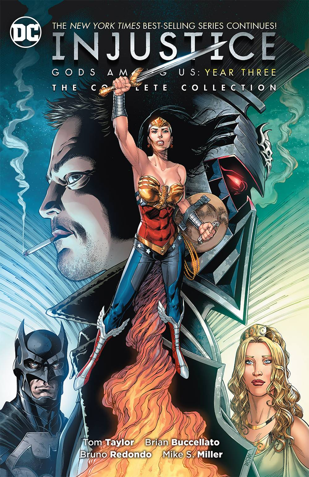 INJUSTICE GODS AMONG US YEAR THREE COMPLETE COLL TP