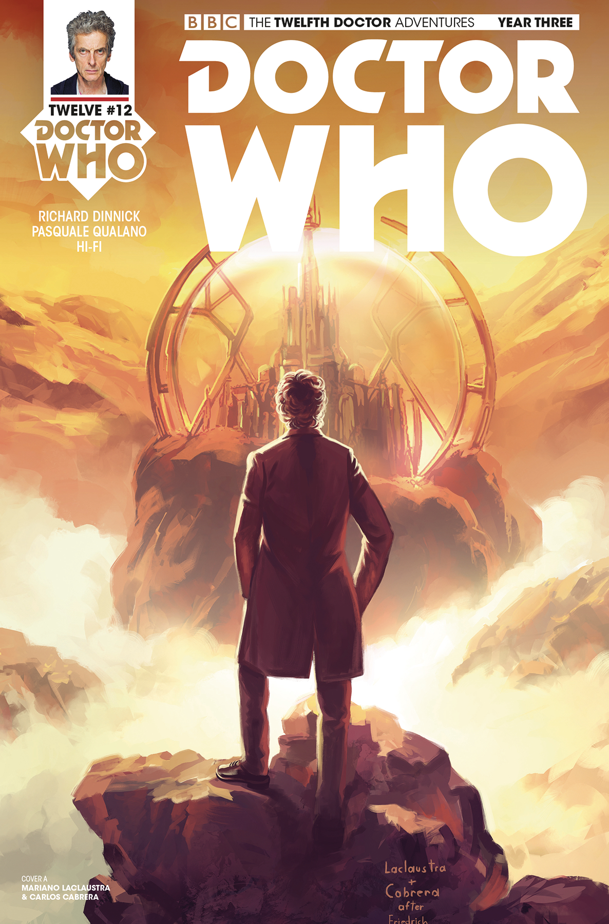 DOCTOR WHO 12TH YEAR THREE #12 CVR A LACLAUSTRA