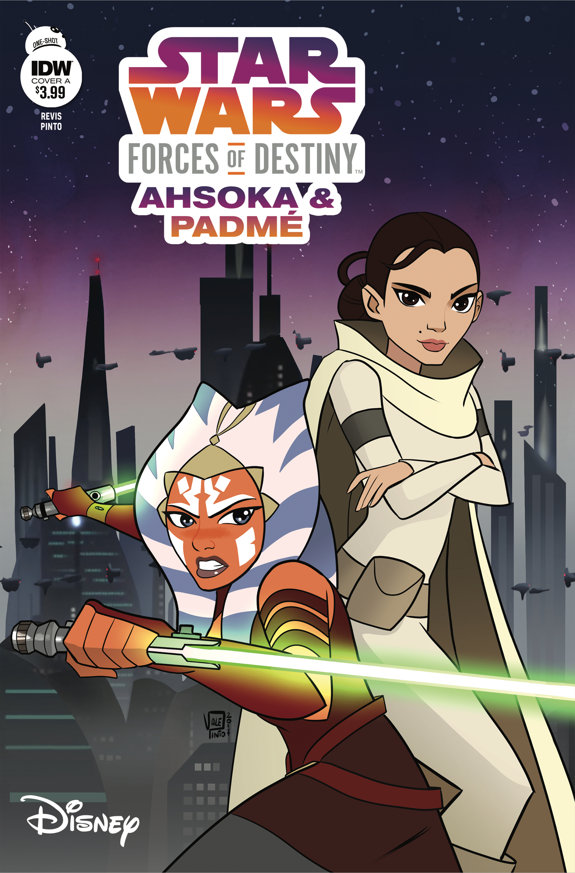 STAR WARS ADV FORCES OF DESTINY AHSOKA & PADME CVR A