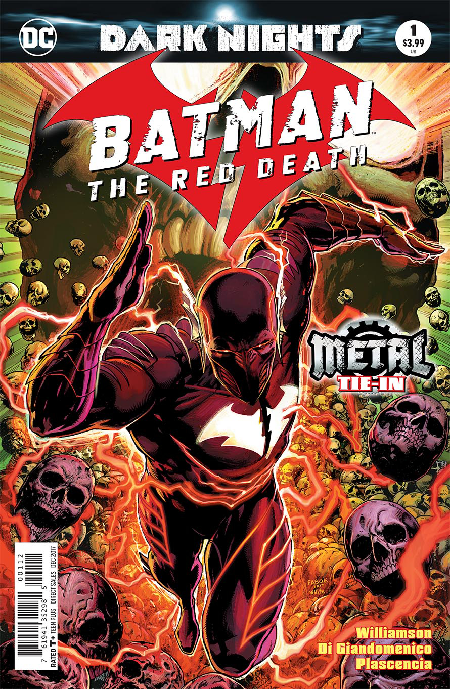 BATMAN THE RED DEATH #1 2ND PTG (METAL)