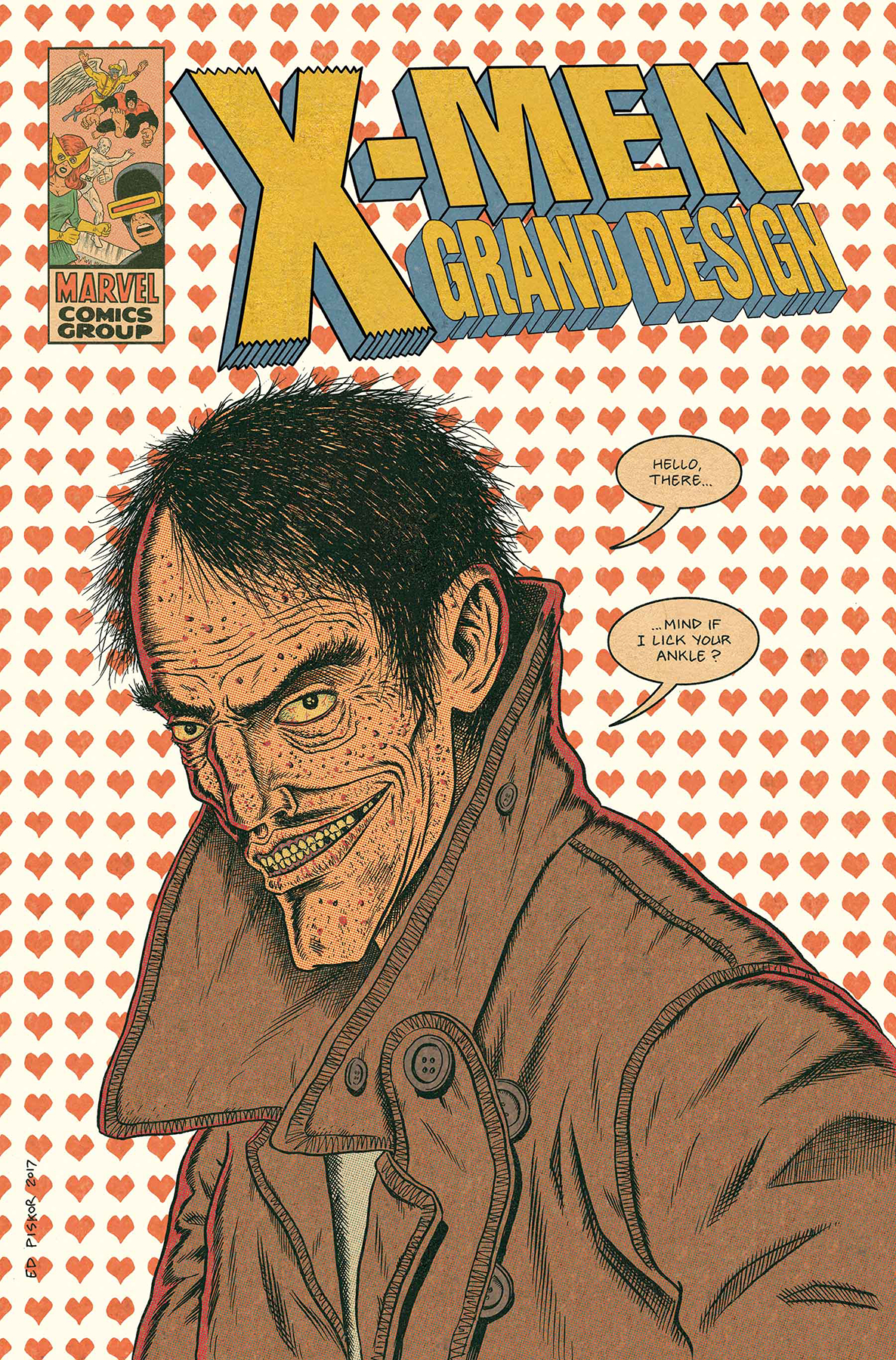 X-MEN GRAND DESIGN #2 (OF 2) PISKOR CHARACTER VAR