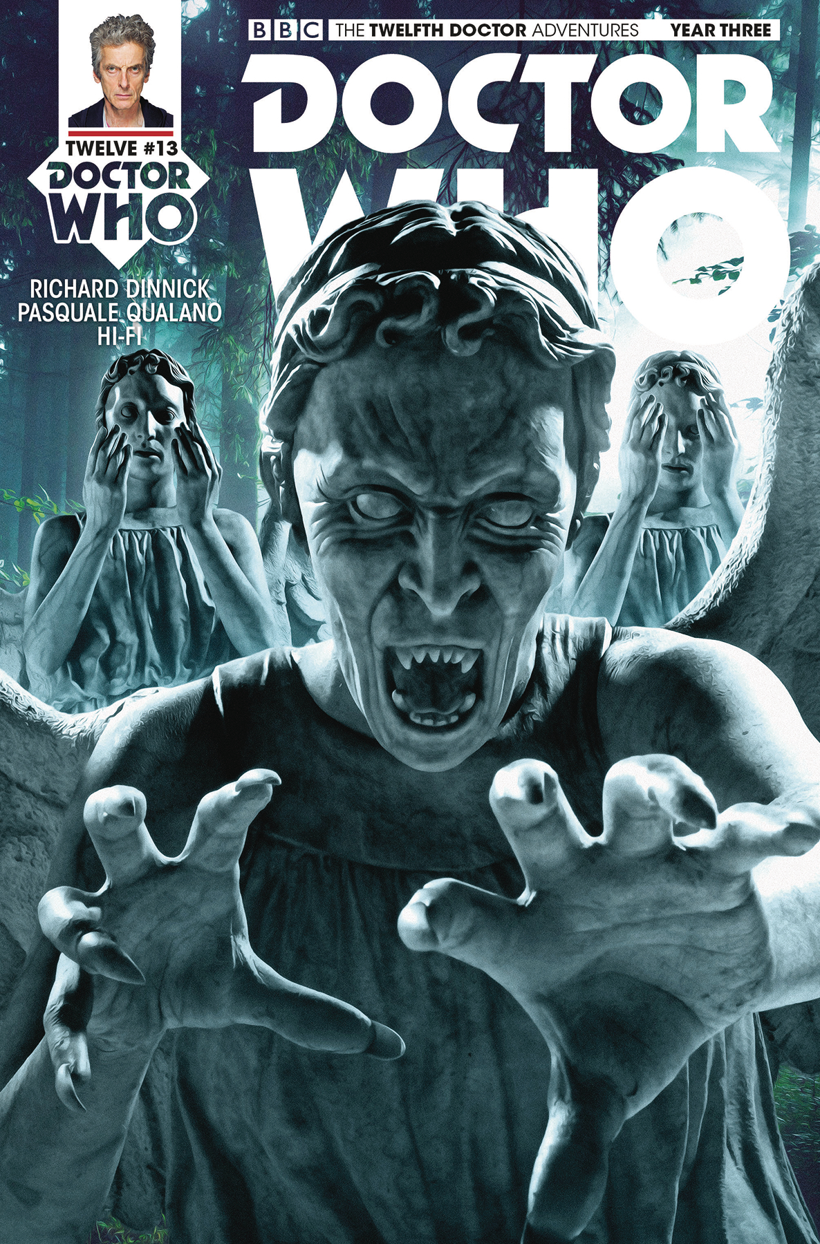 DOCTOR WHO 12TH YEAR THREE #13 CVR B PHOTO