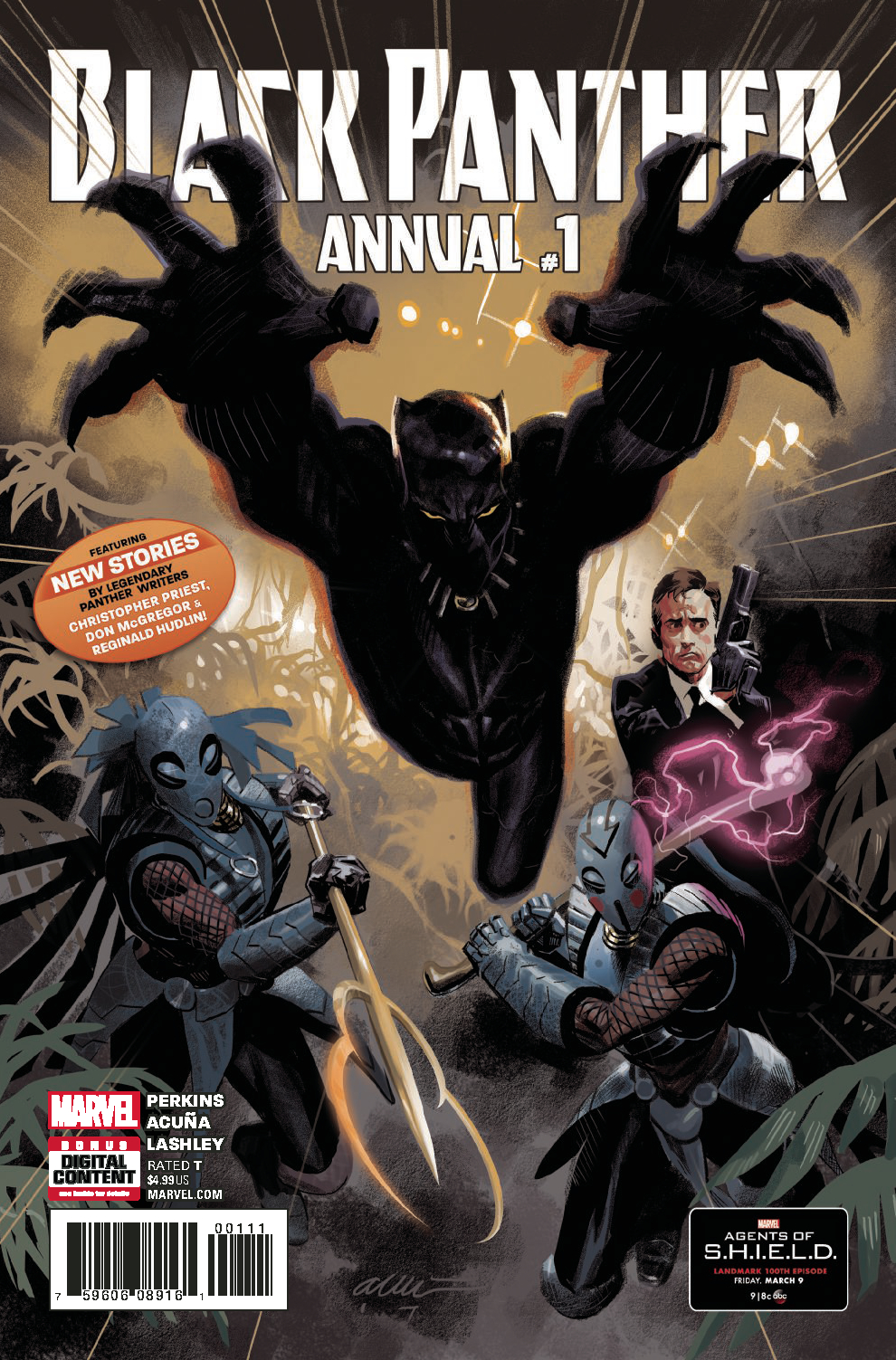 BLACK PANTHER ANNUAL #1 LEG