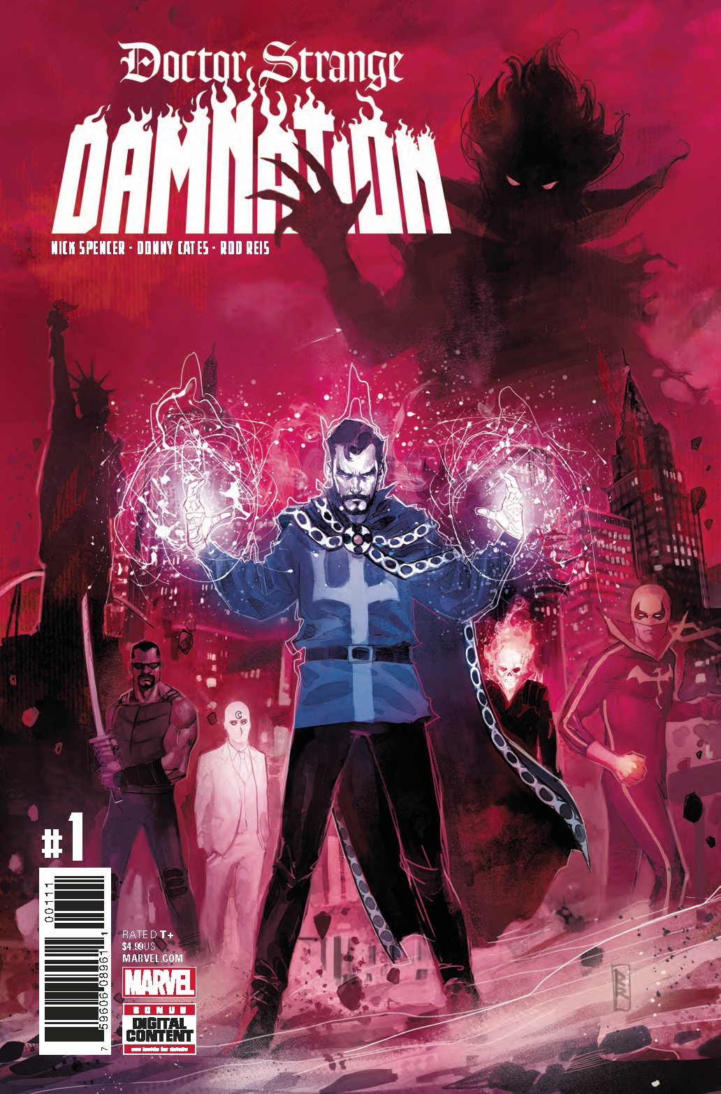 DOCTOR STRANGE DAMNATION #1 (OF 4) LEG