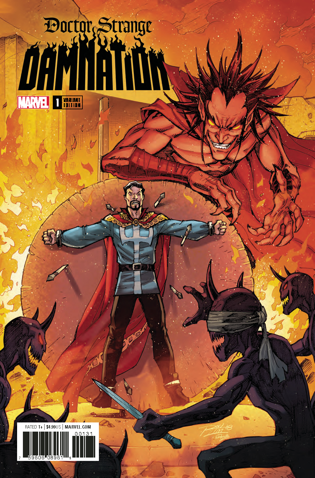 DOCTOR STRANGE DAMNATION #1 (OF 4) LIM VAR LEG