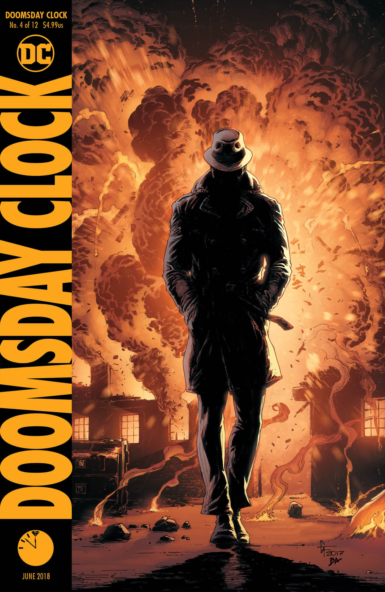 Dec170235 Doomsday Clock 4 Of 12 Var Ed Previews World