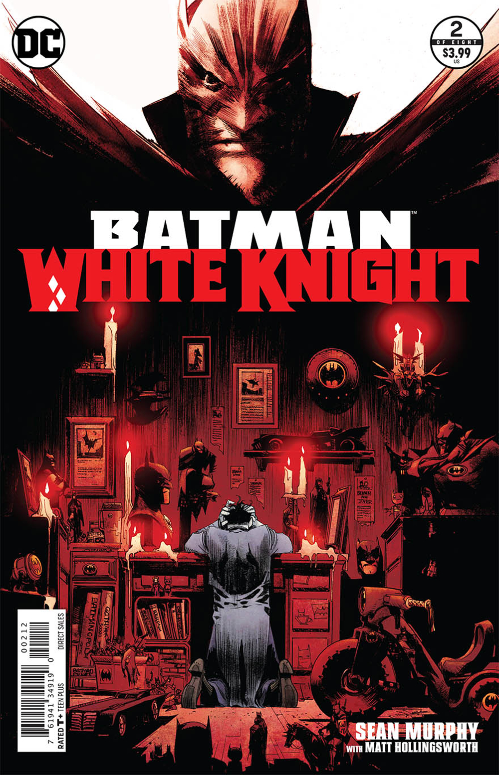 BATMAN WHITE KNIGHT #2 (OF 8) 2ND PTG