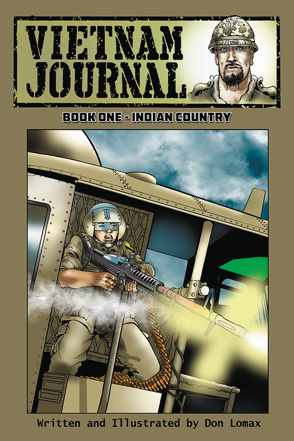 VIETNAM JOURNAL GN VOL 01 INDIAN COUNTRY (MR)