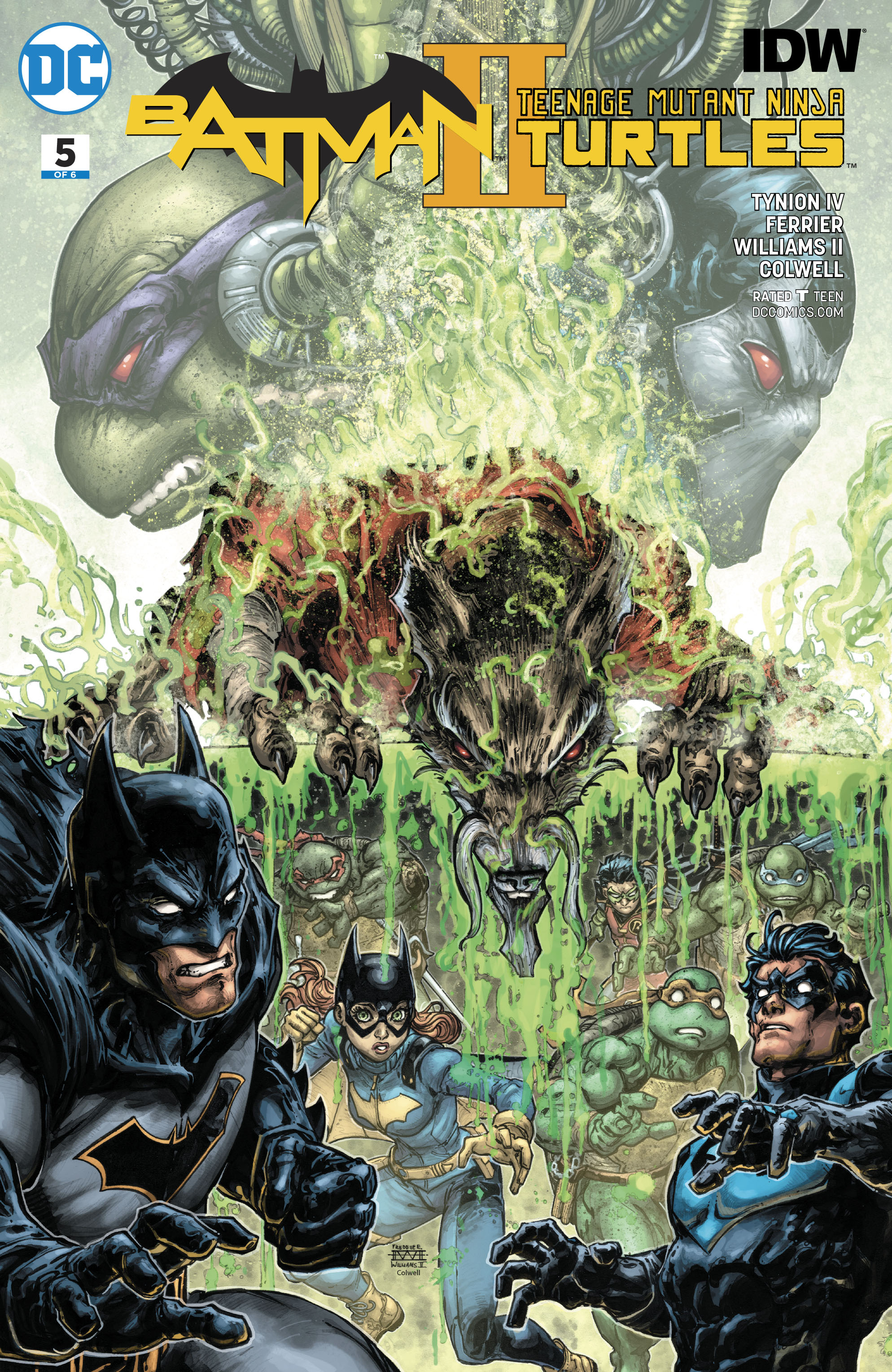 BATMAN TEENAGE MUTANT NINJA TURTLES II #5 (OF 6)