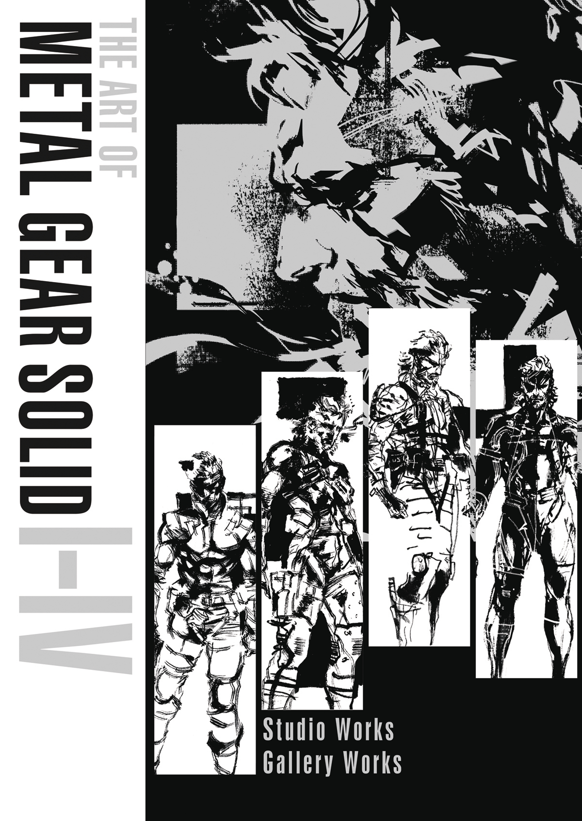 ART OF METAL GEAR SOLID I-IV HC (MR)