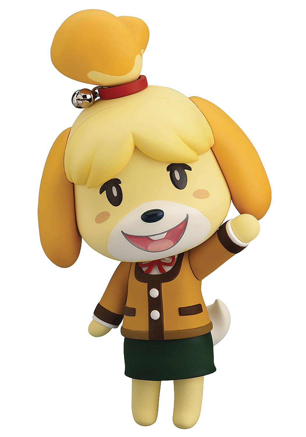 ANIMAL CROSSING NEW LEAF SHIZUE ISABELLE NENDOROID WINTER VE
