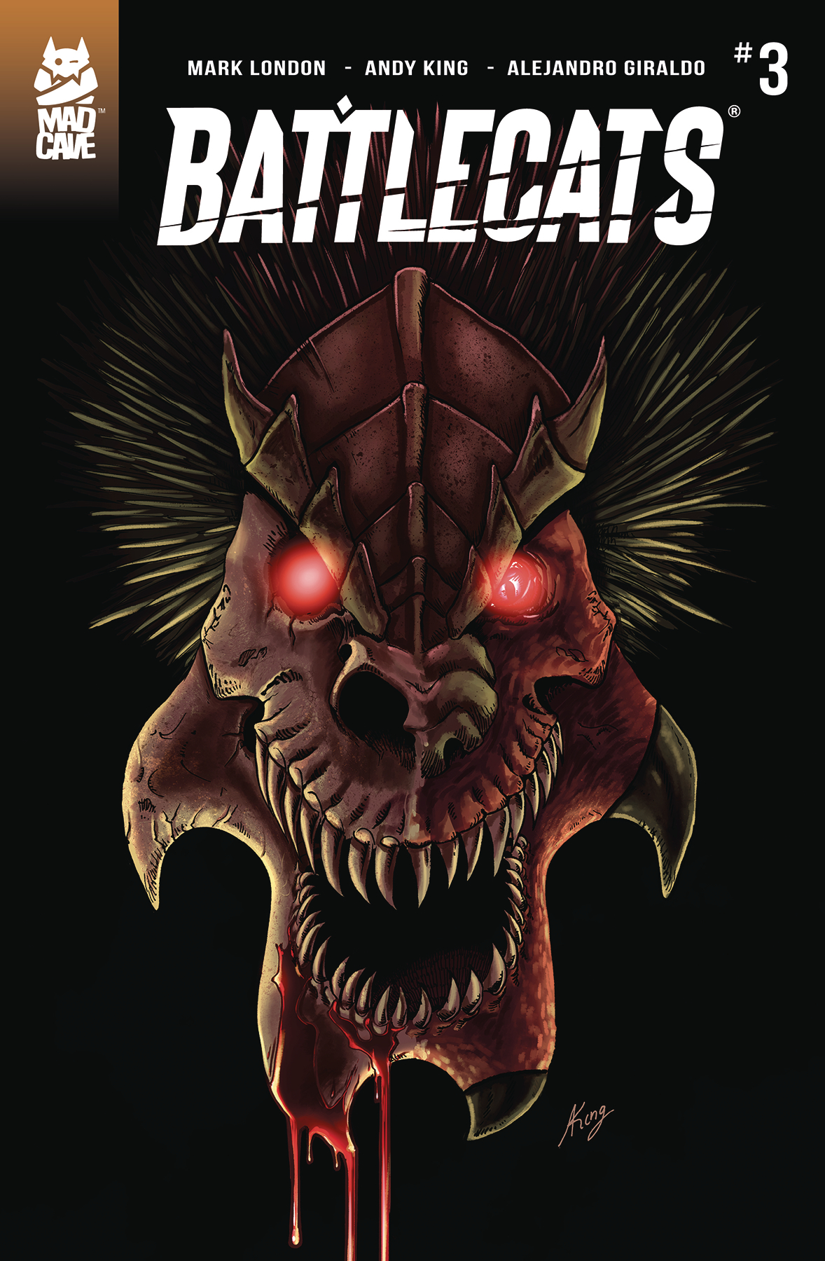 BATTLECATS #3 (OF 5)