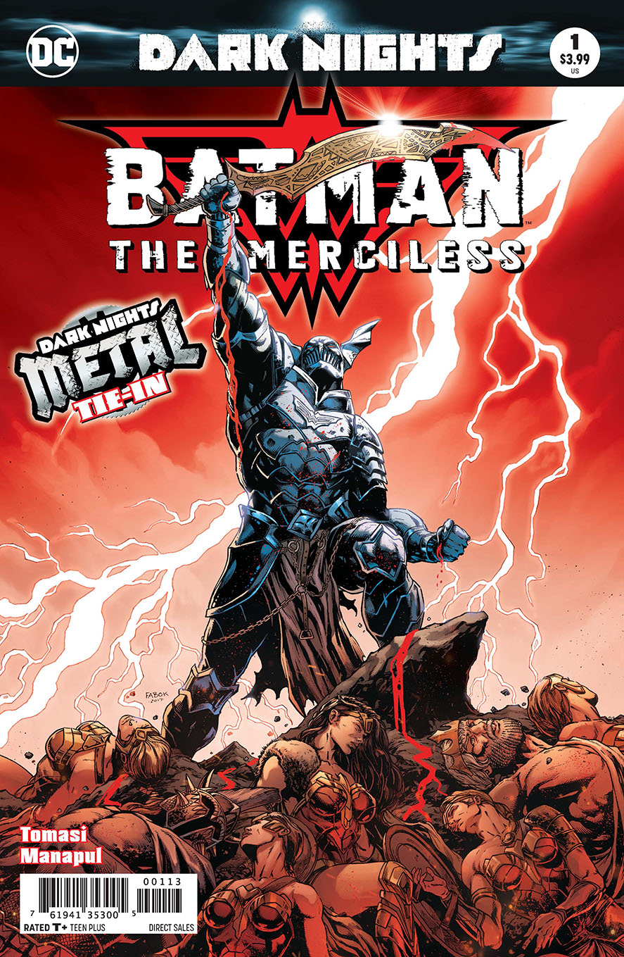 BATMAN THE MERCILESS #1 3RD PTG METAL