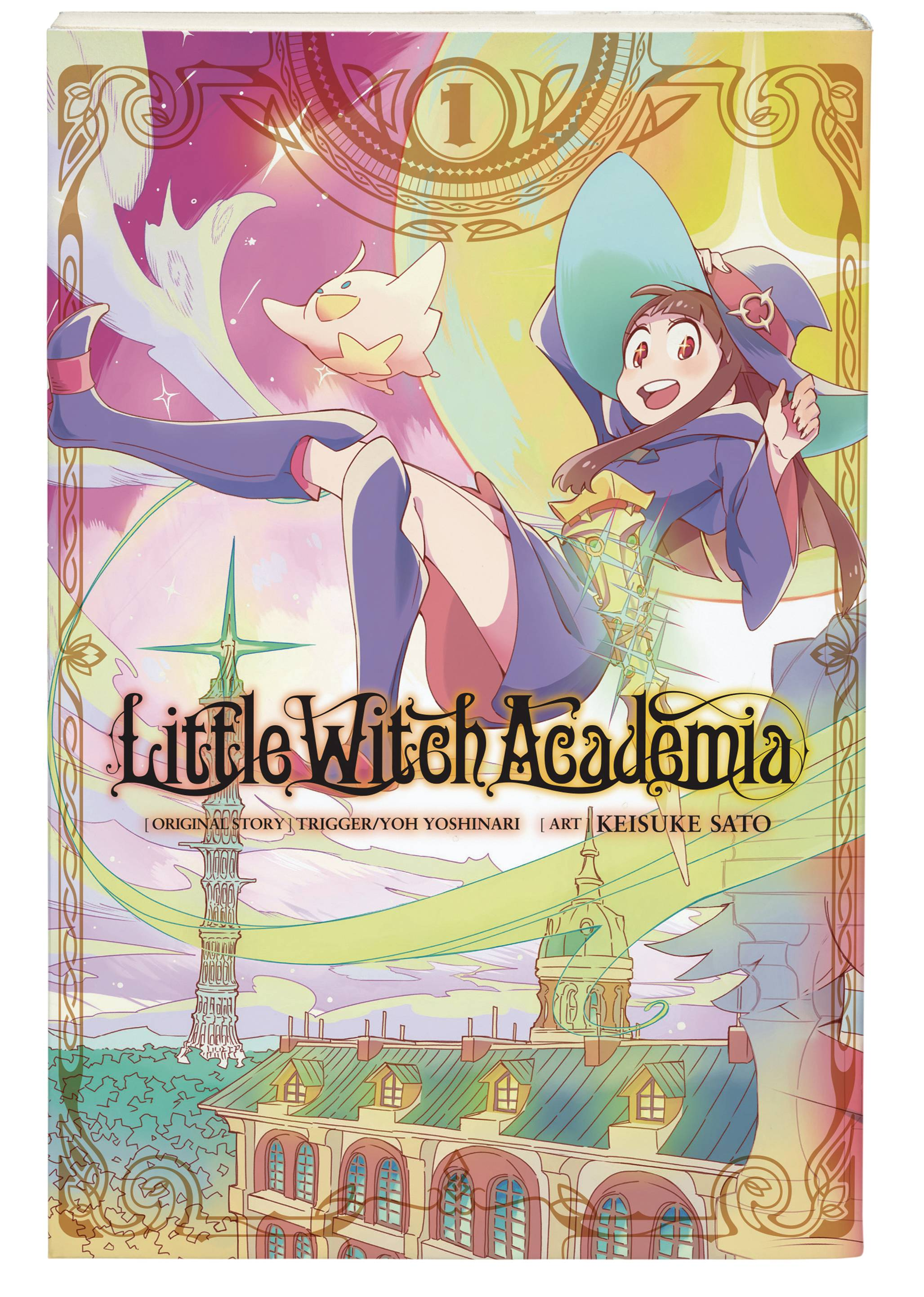 LITTLE WITCH ACADEMIA GN VOL 01