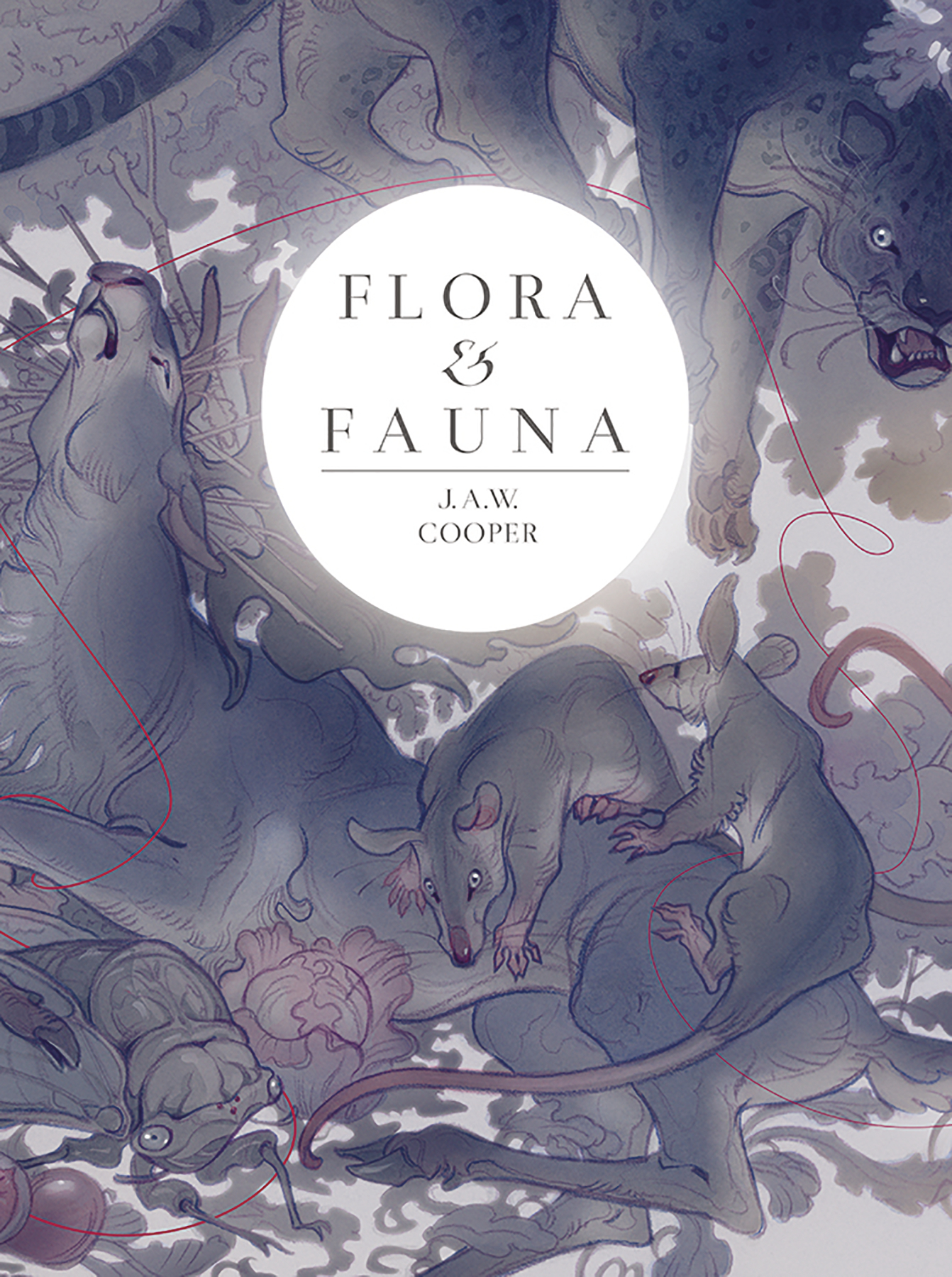 JAW COOPER ART BOOK FLORA & FAUNA (MR)