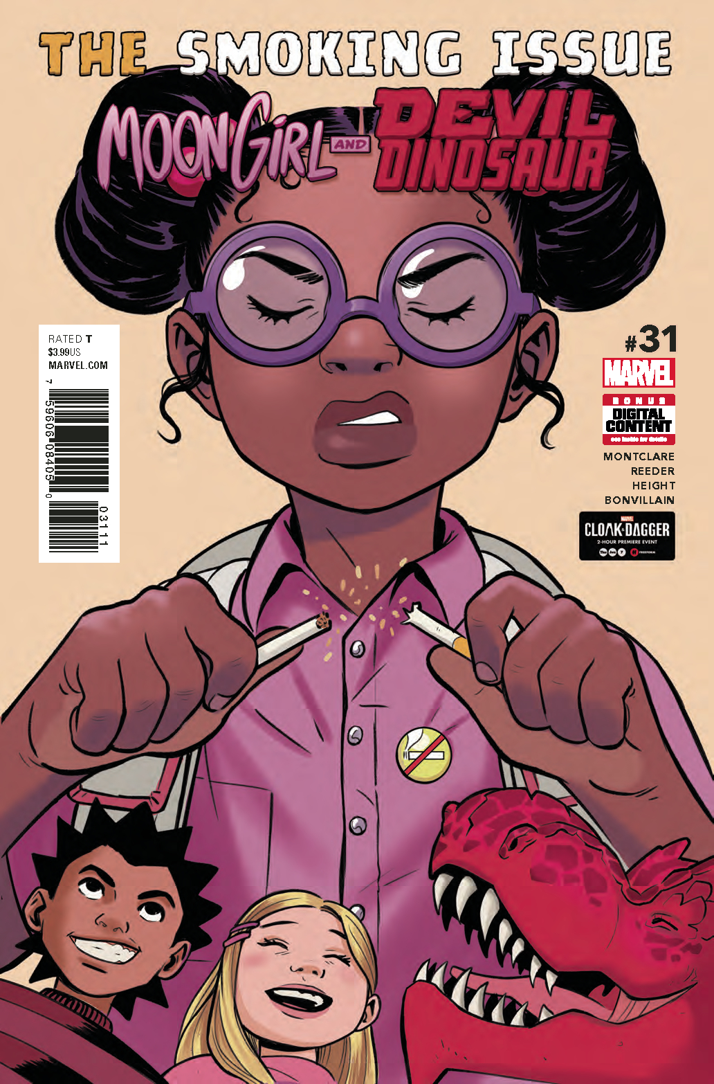 MOON GIRL AND DEVIL DINOSAUR #31 LEG