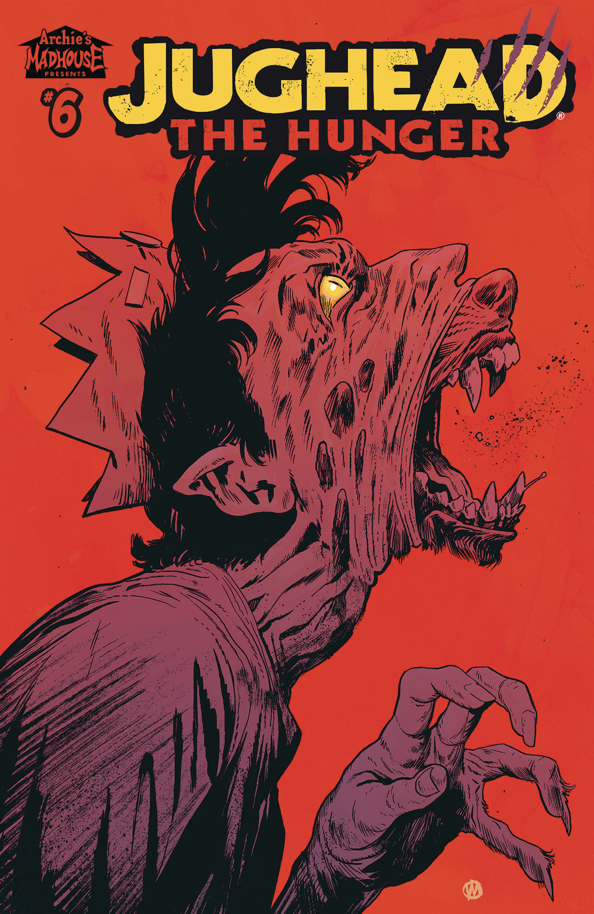 JUGHEAD THE HUNGER #6 CVR C WALSH (MR)