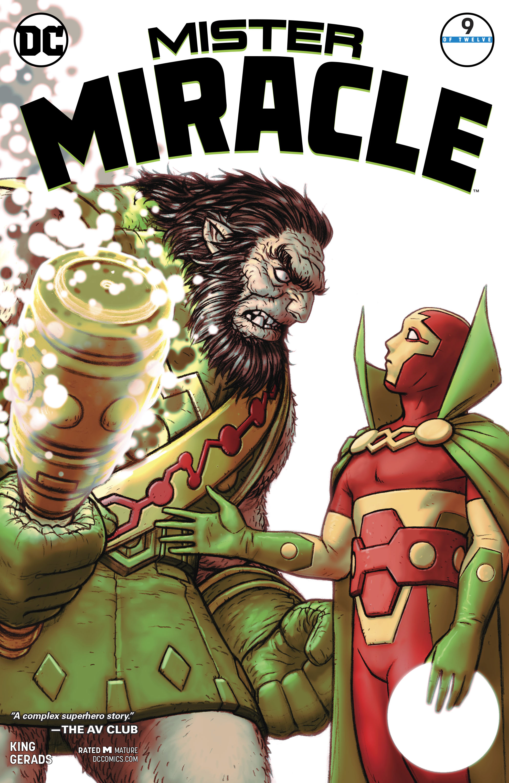 MISTER MIRACLE #9 (OF 12) (MR)