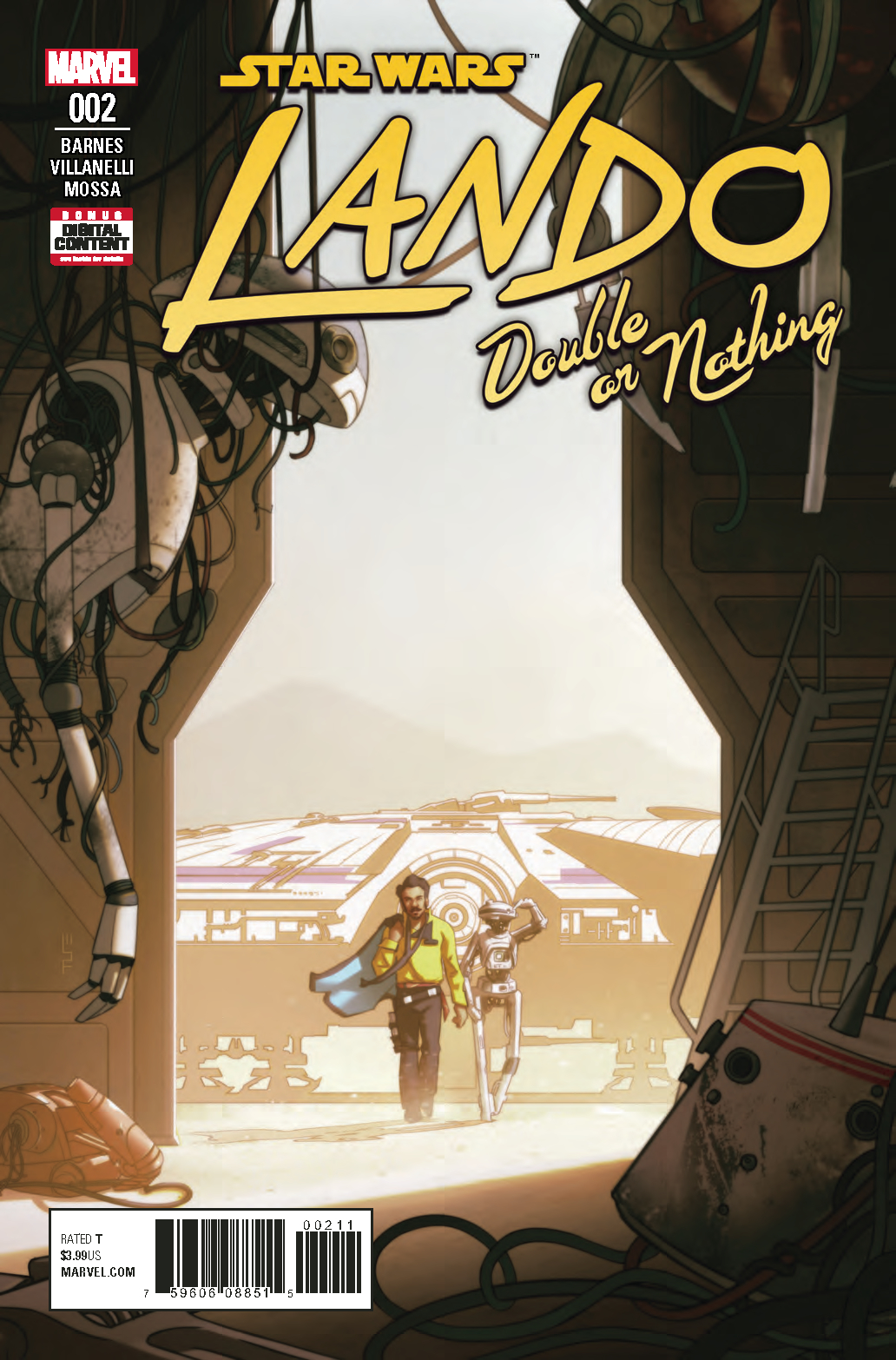 STAR WARS LANDO DOUBLE OR NOTHING #2 (OF 5)