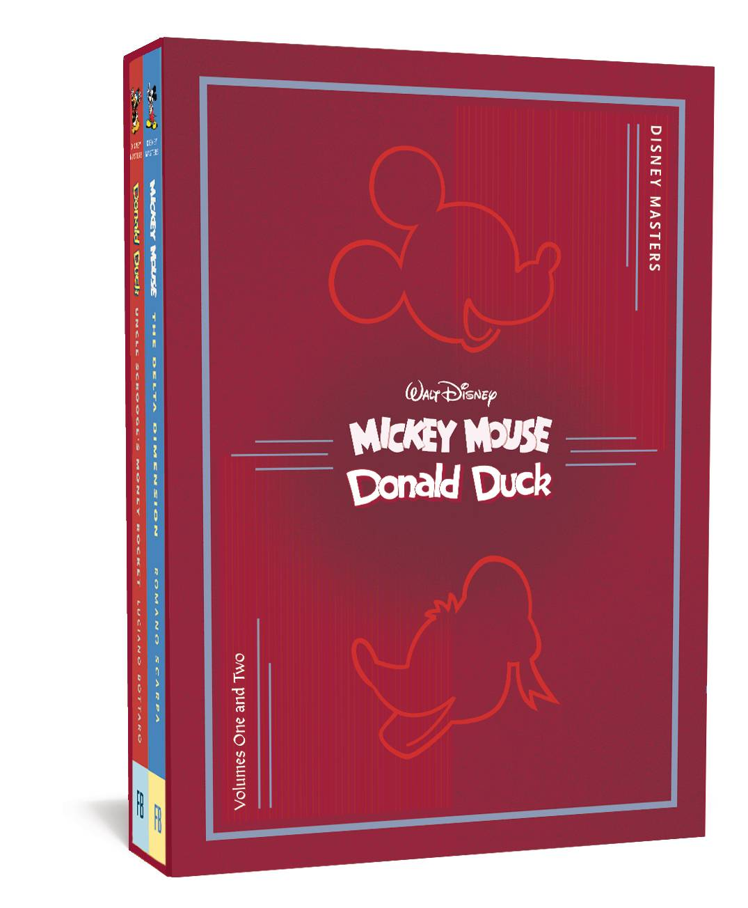 DISNEY MASTERS COLLECTORS HC BOX SET 1 & 2 SCARPA BOTTARO (A