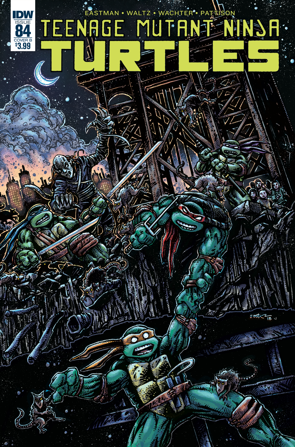 TMNT ONGOING #84 CVR B EASTMAN