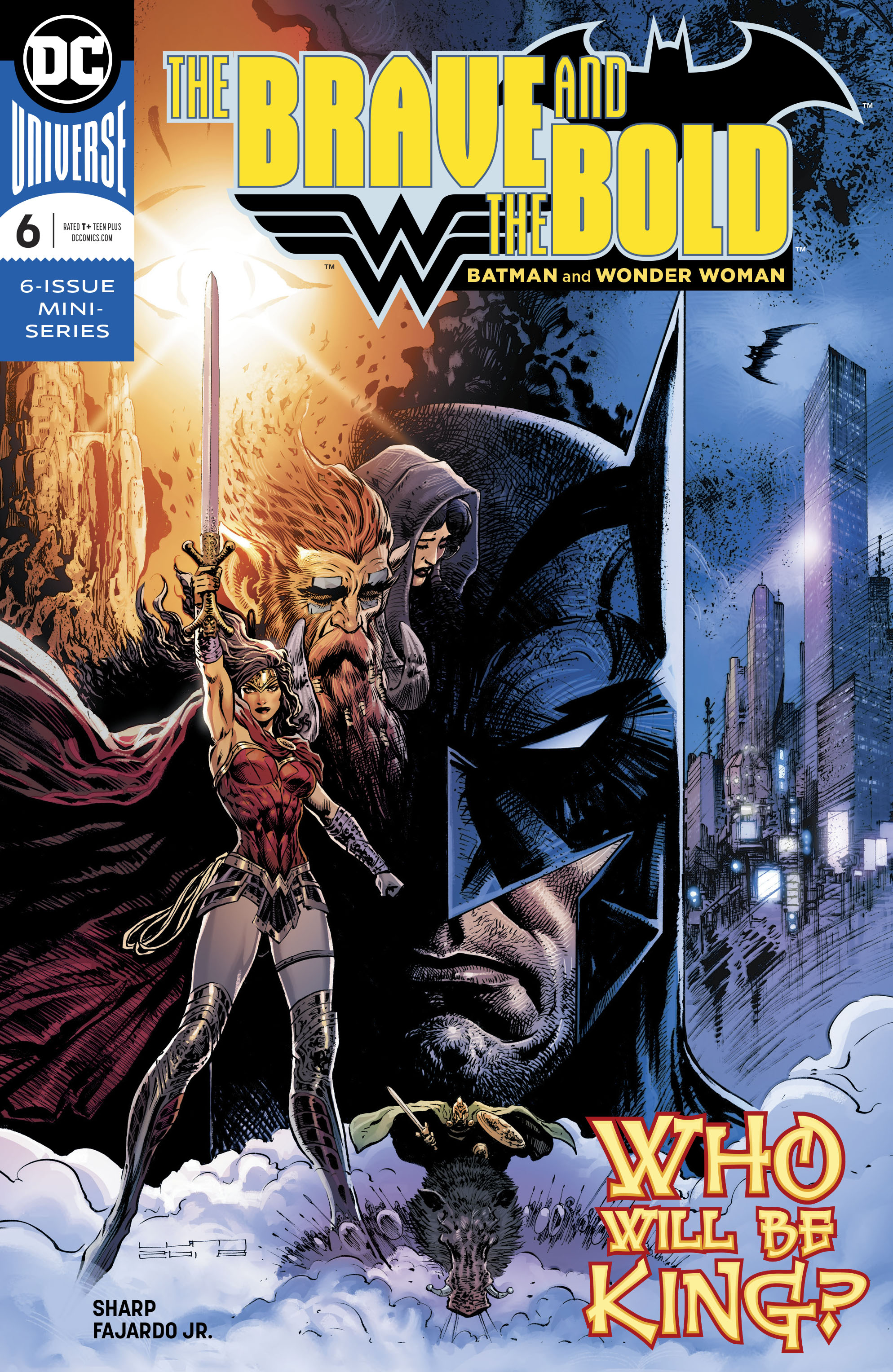 BRAVE & THE BOLD BATMAN & WONDER WOMAN #6 (OF 6)