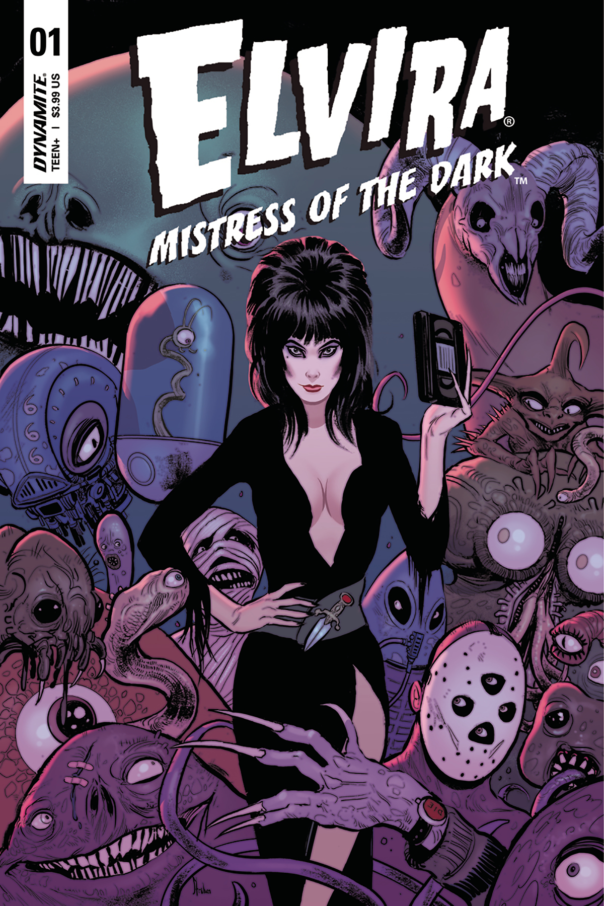 ELVIRA MISTRESS OF DARK #1 CVR C STRAHM