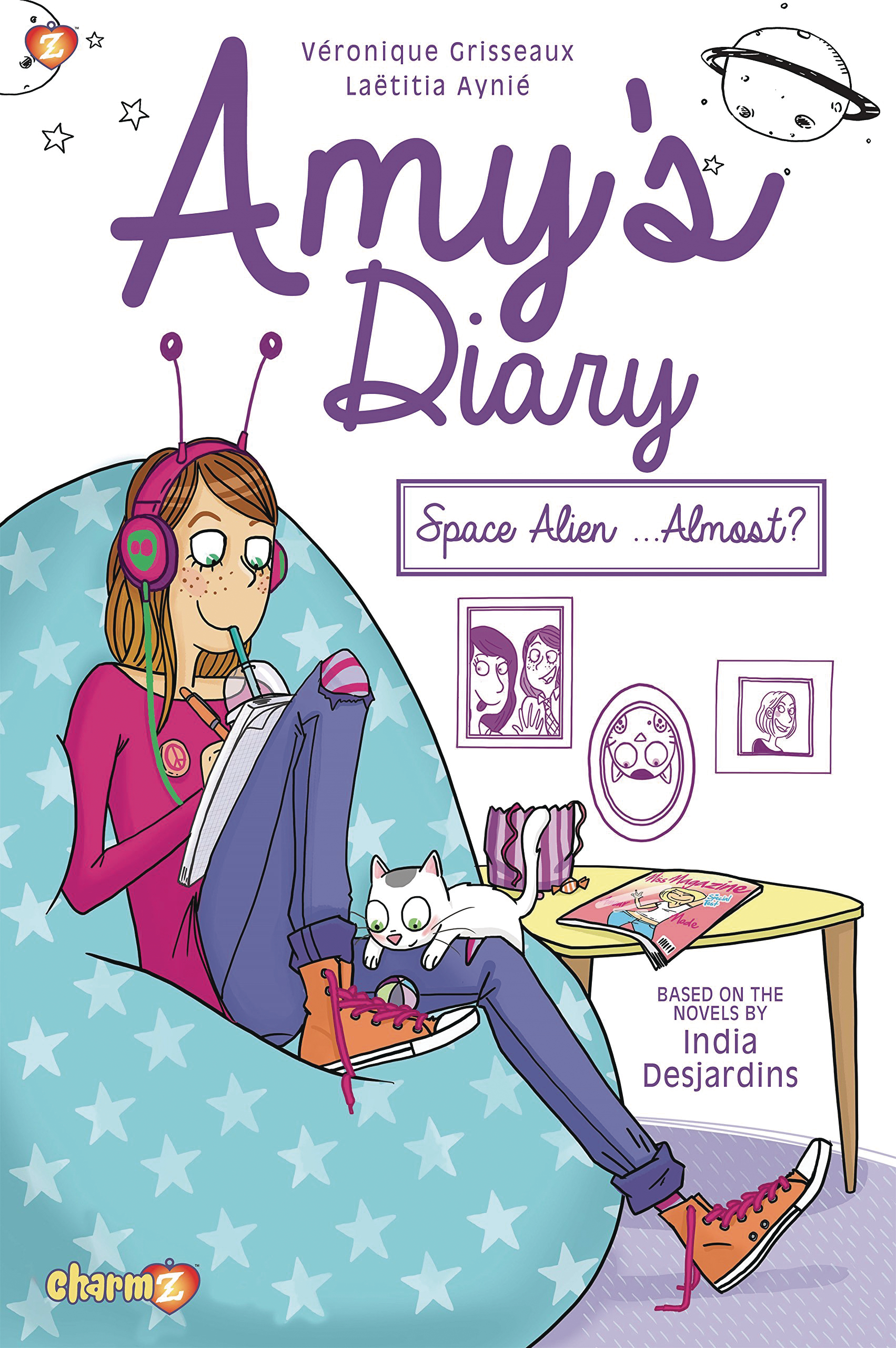 AMYS DIARY HC VOL 01 SPACE ALIEN ALMOST