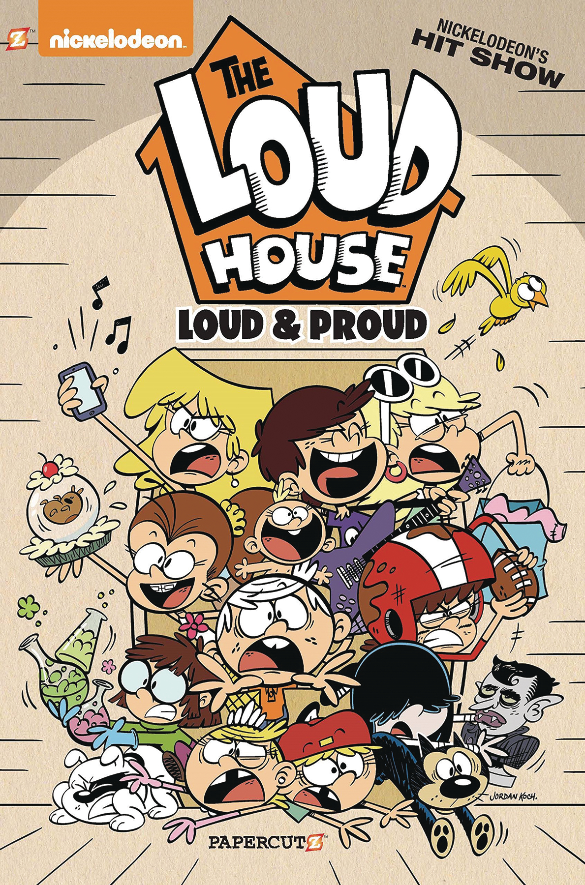 LOUD HOUSE GN VOL 06 LOUD & PROUD