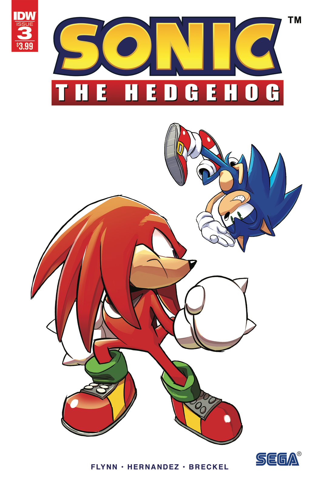 SONIC THE HEDGEHOG #3 2ND PTG
