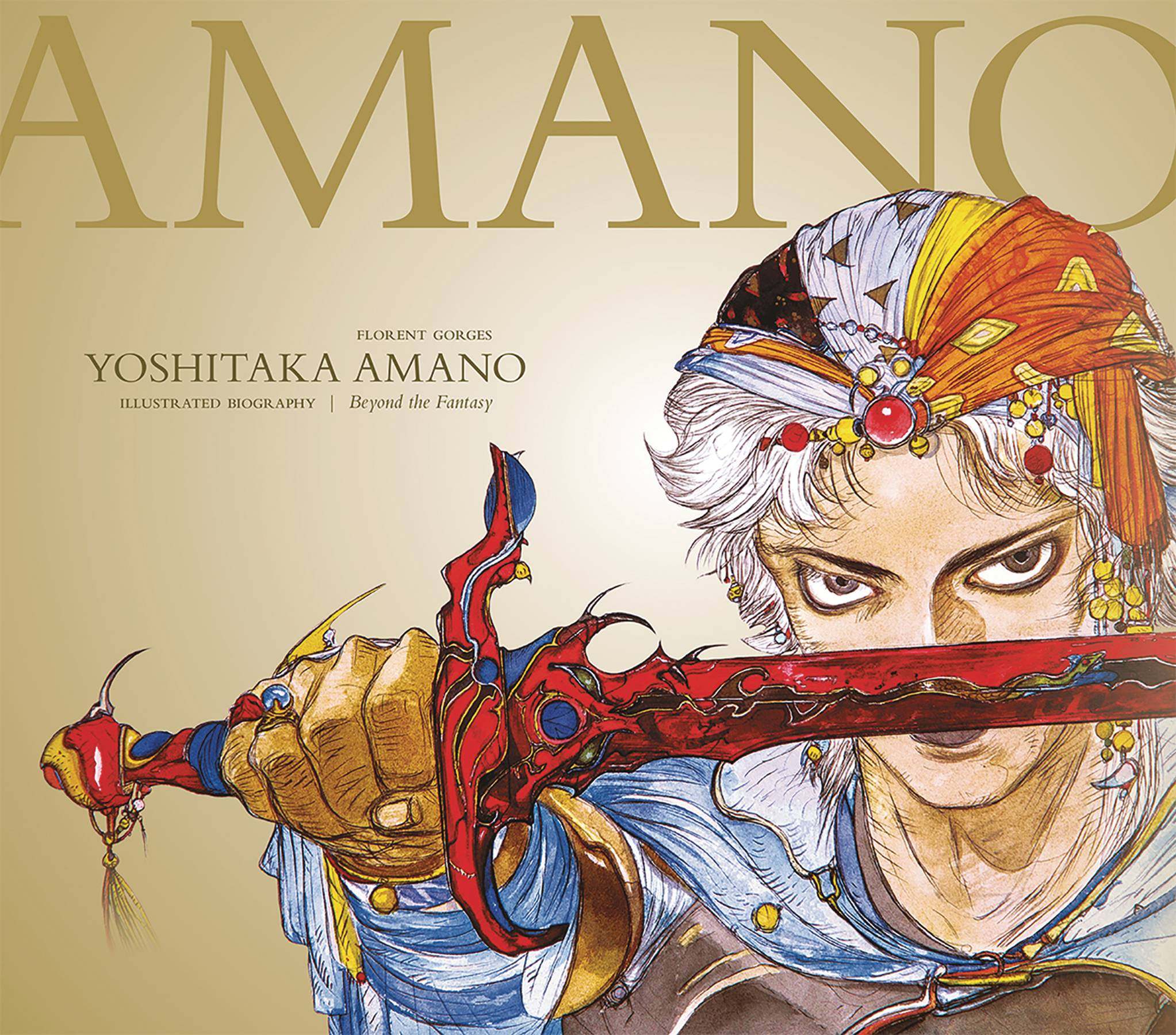 JUN180312 - YOSHITAKA AMANO THE ILLUSTRATED BIOGRAPHY HC