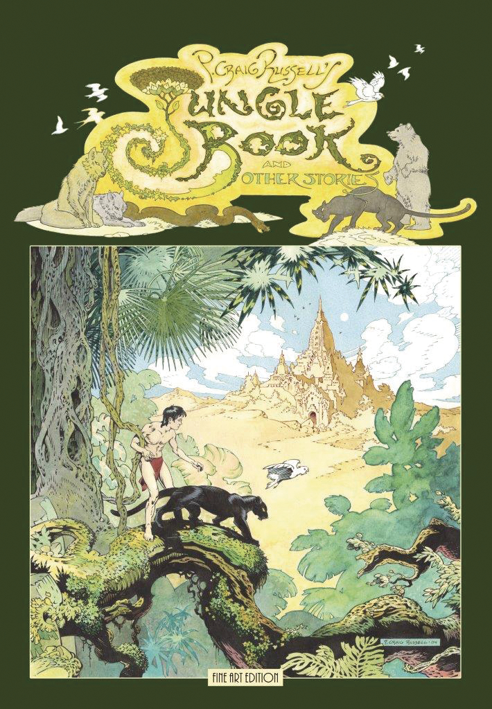 P CRAIG RUSSELL JUNGLE BOOK & OTHER STORIES FINE ART ED