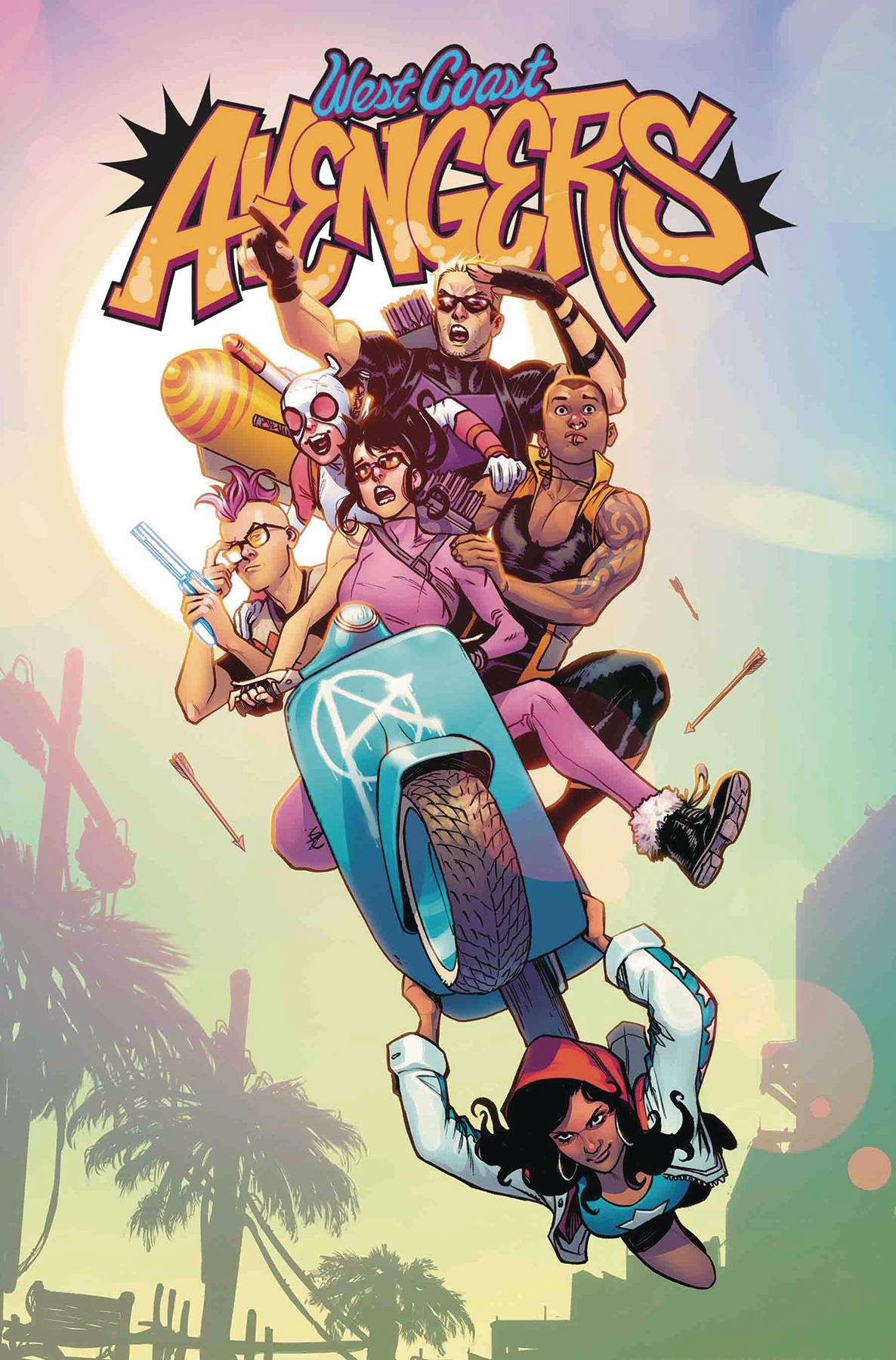 WEST COAST AVENGERS #1 BY CASELLI POSTER