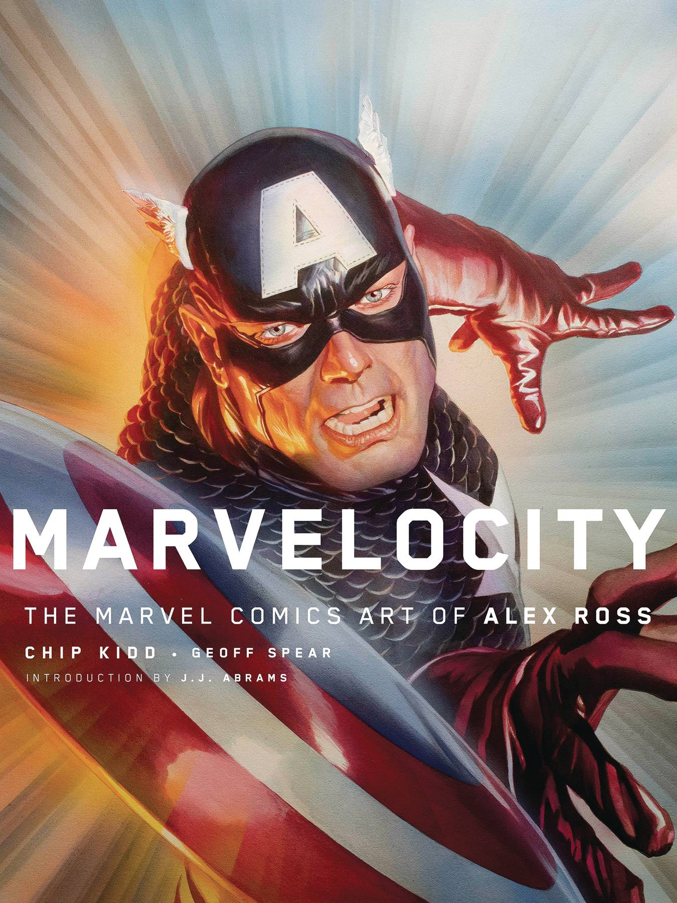 MARVELOCITY MARVEL COMIC ART ALEX ROSS HC