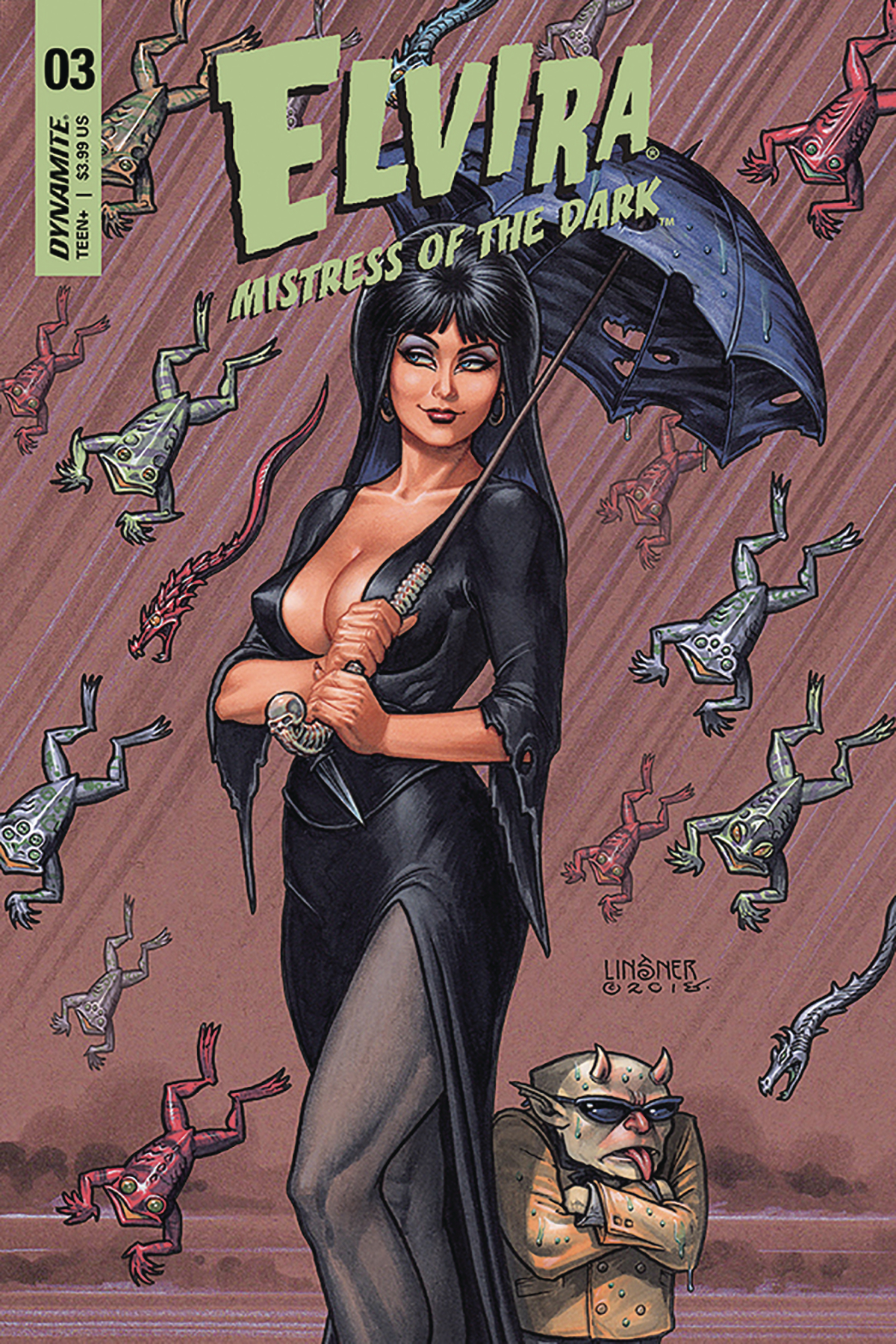 ELVIRA MISTRESS OF DARK #3 CVR A LINSNER
