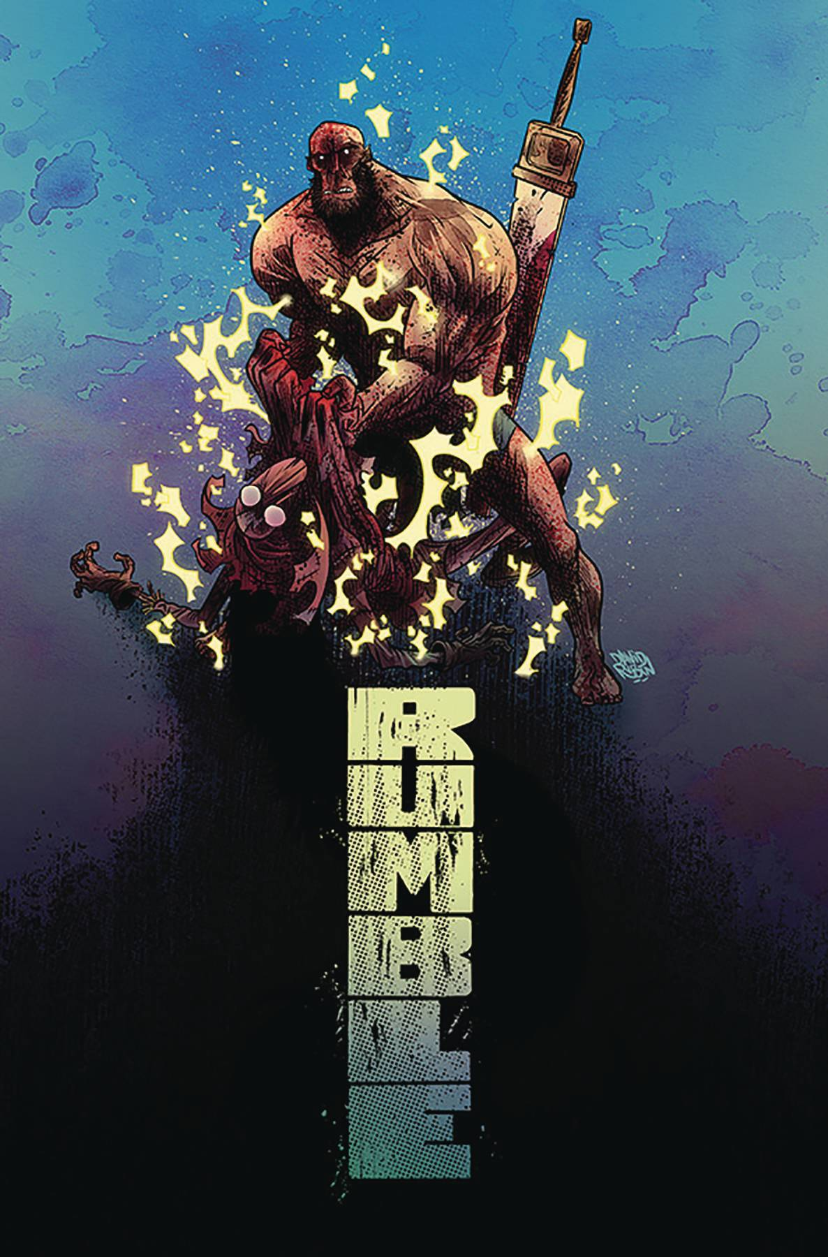 RUMBLE TP VOL 05 THINGS REMOTE (DEC180172) (MR)