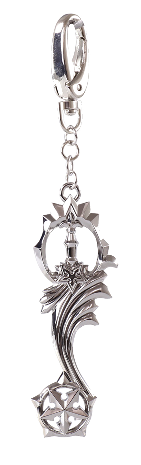 KINGDOM HEARTS SHOOTING STAR KEYBLADE KEYCHAIN