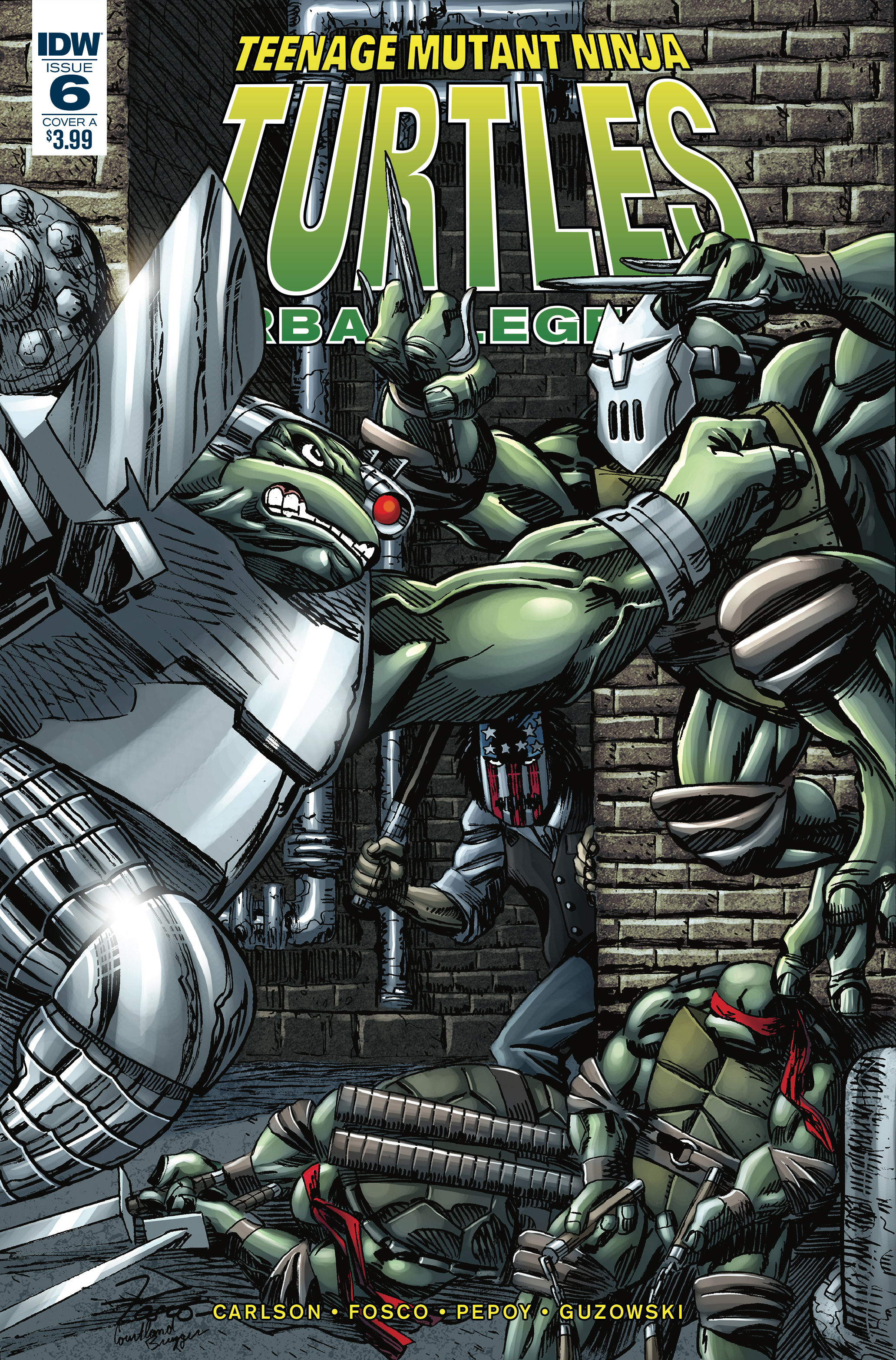 TMNT URBAN LEGENDS #6 CVR A FOSCO