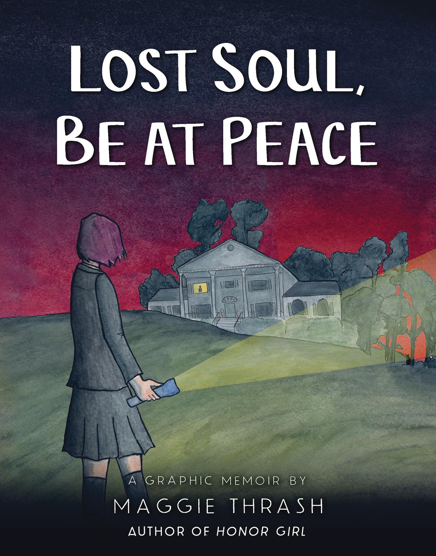 LOST SOUL BE AT PEACE GRAPHIC MEMOIR (MR)