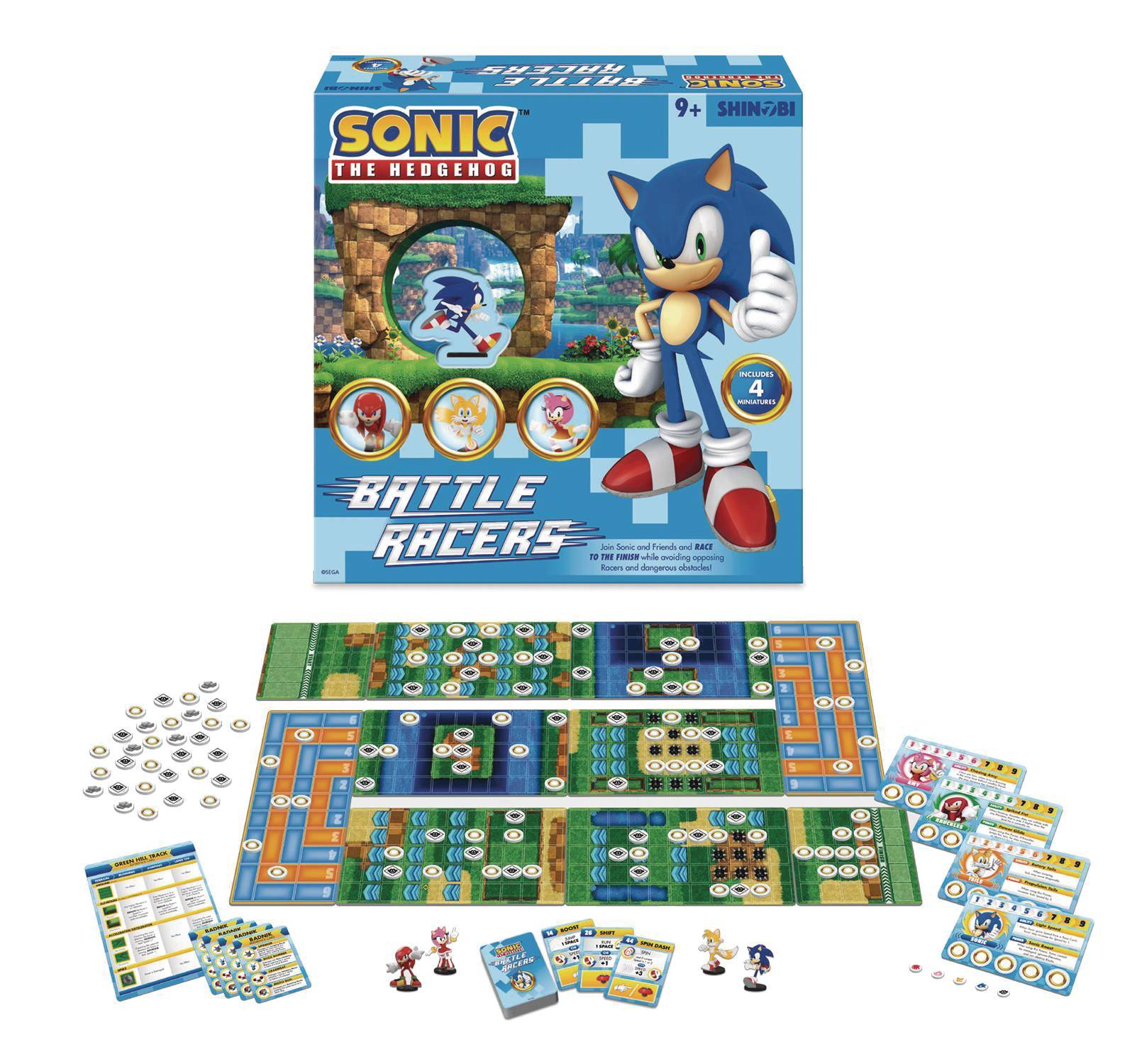 SONIC THE HEDGEHOG BATTLE RACERS BOARDGAME