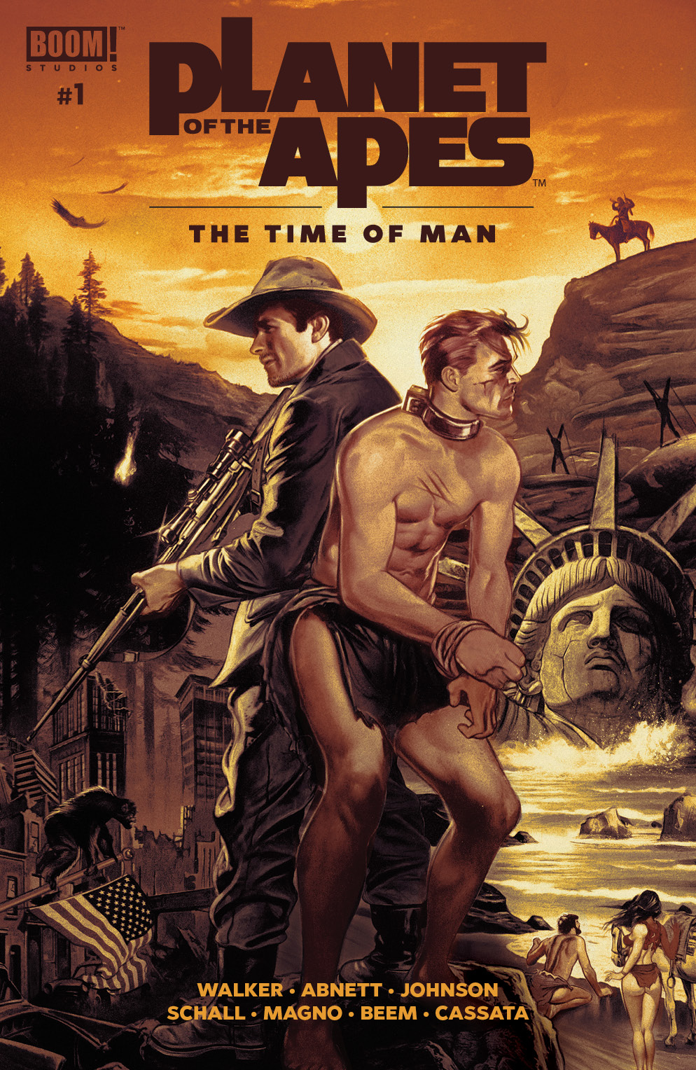 PLANET OF THE APES TIME OF MAN #1 MAIN