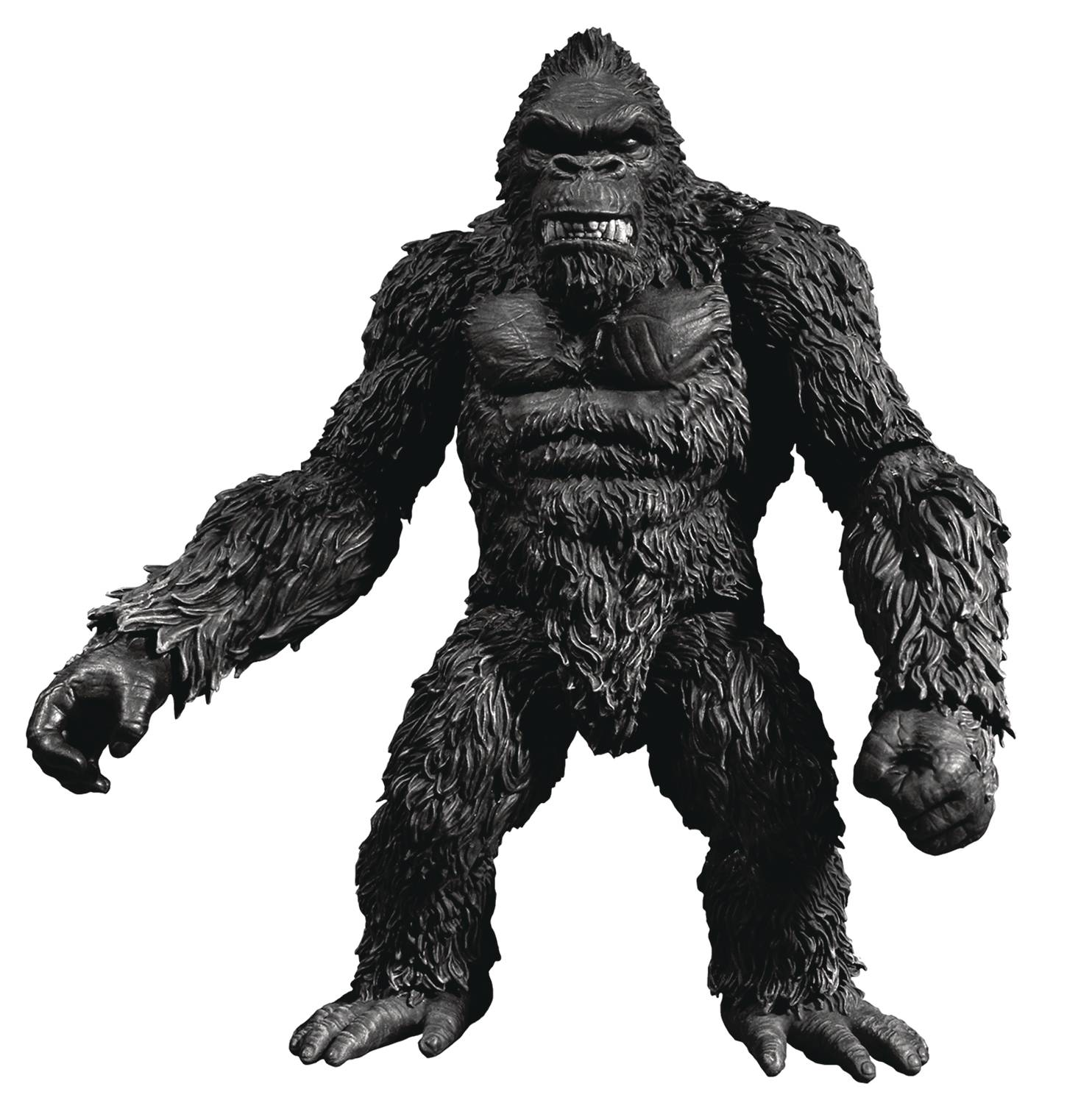 "KING KONG OF SKULL ISLAND PX 7"" ACTION FIGURE B&W VERSION (O"